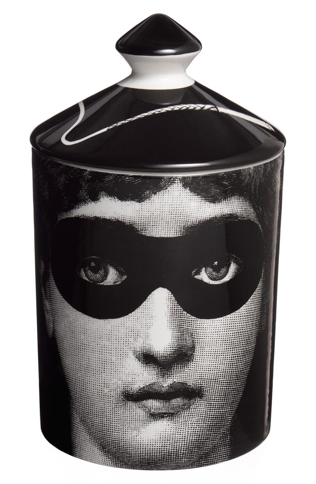 Fornasetti 'Burlesque - Otto' Lidded Candle