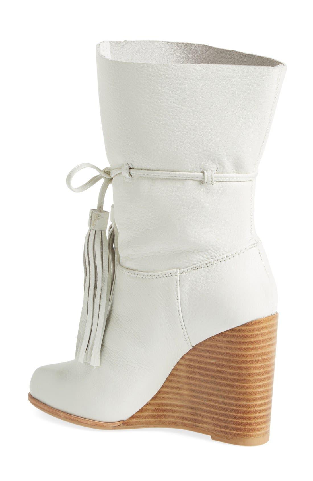Alternate Image 2  - Jeffrey Campbell 'Larusso' Wedge Tassel Boot (Women)