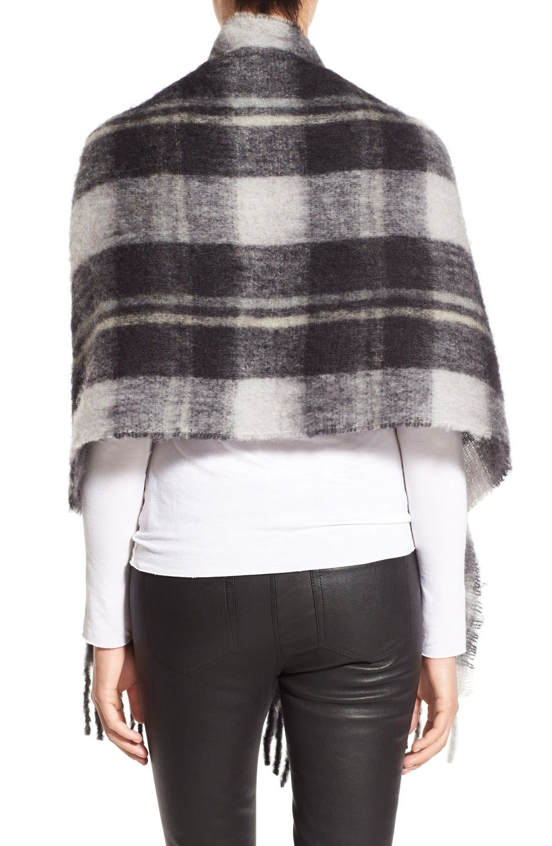 Alternate Image 2  - MARC BY MARC JACOBS Plaid Blanket Scarf