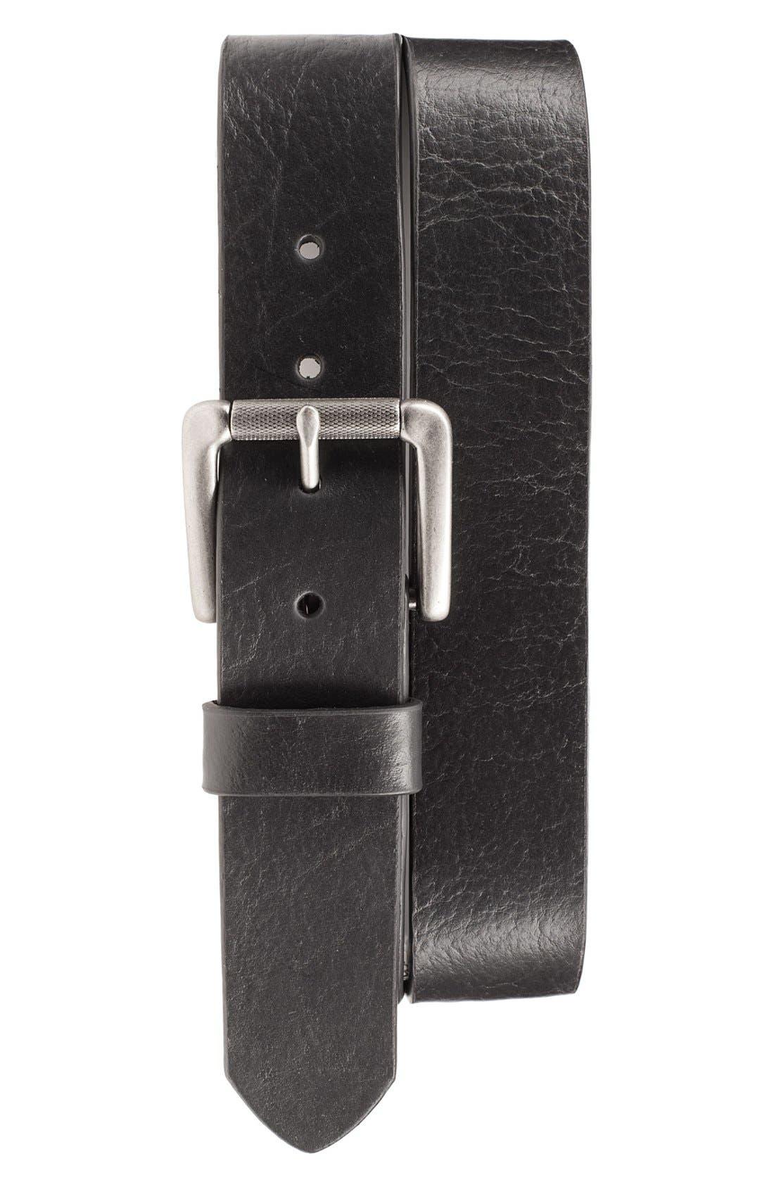 Bill Adler 1981 'Jaxson' Leather Belt