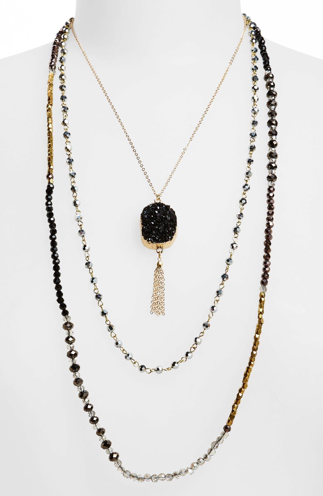 Alternate Image 1 Selected - Panacea Layered Pendant Necklace