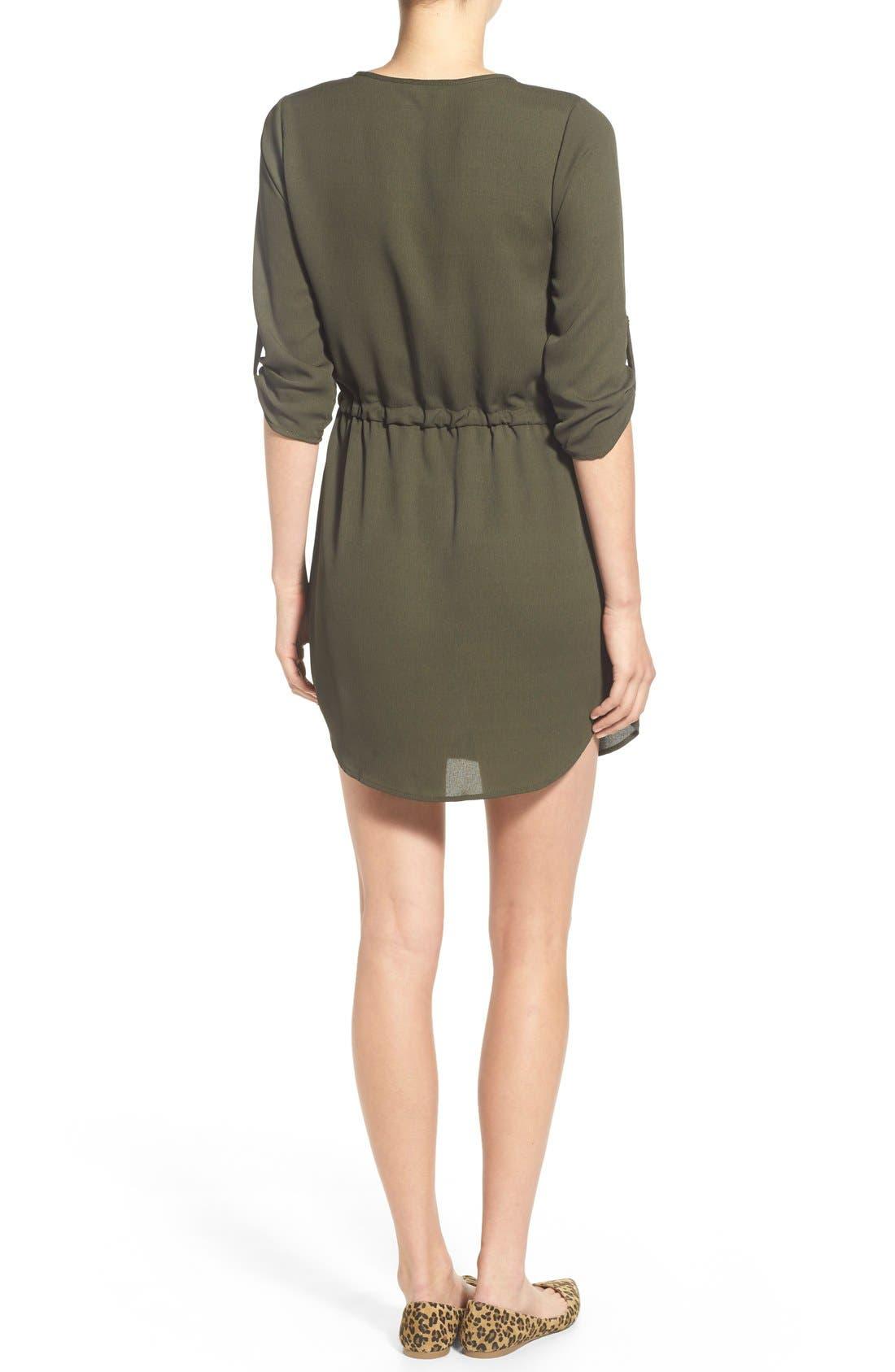 Alternate Image 2  - jella c. Henley Shirtdress