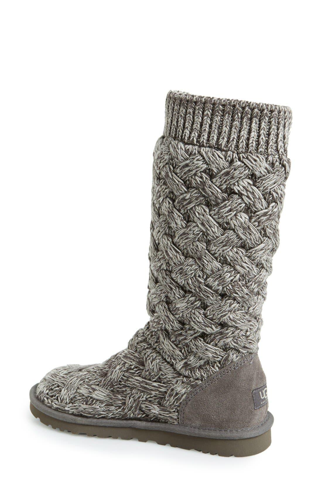 Alternate Image 2  - UGG® Australia 'Mahalya' Knit Boot (Women)