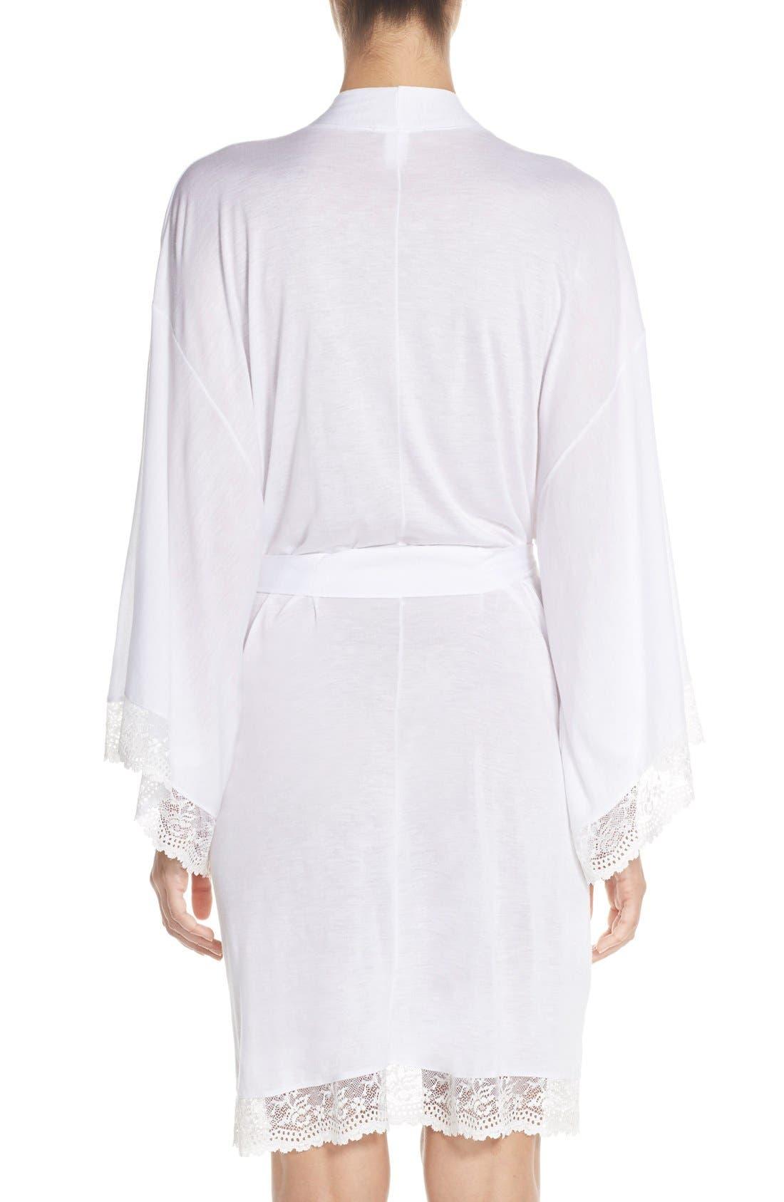 Alternate Image 2  - Eberjey 'Colette' Kimono Robe