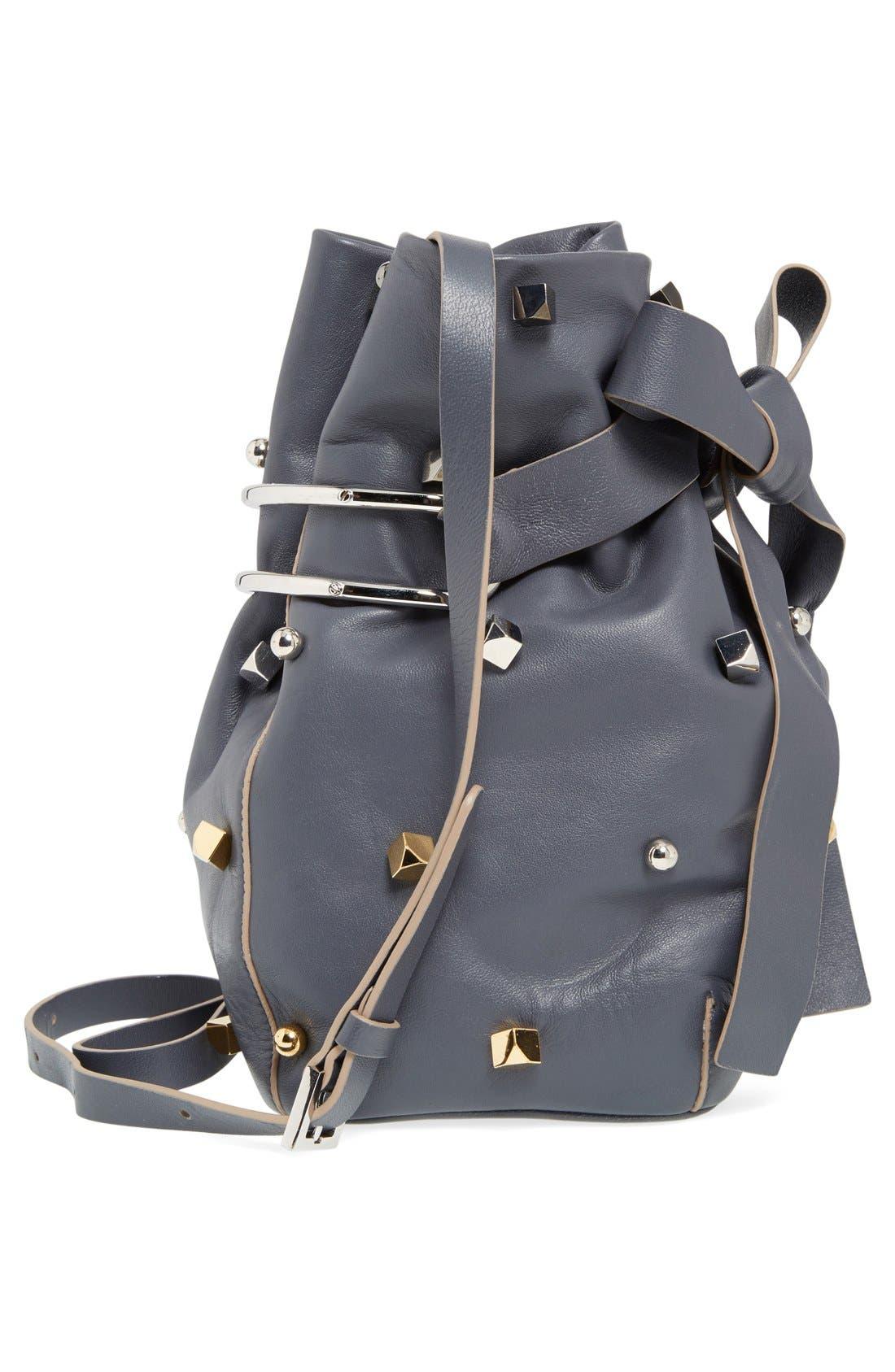Alternate Image 5  - Jimmy Choo 'Eve' Studded Bucket Bag