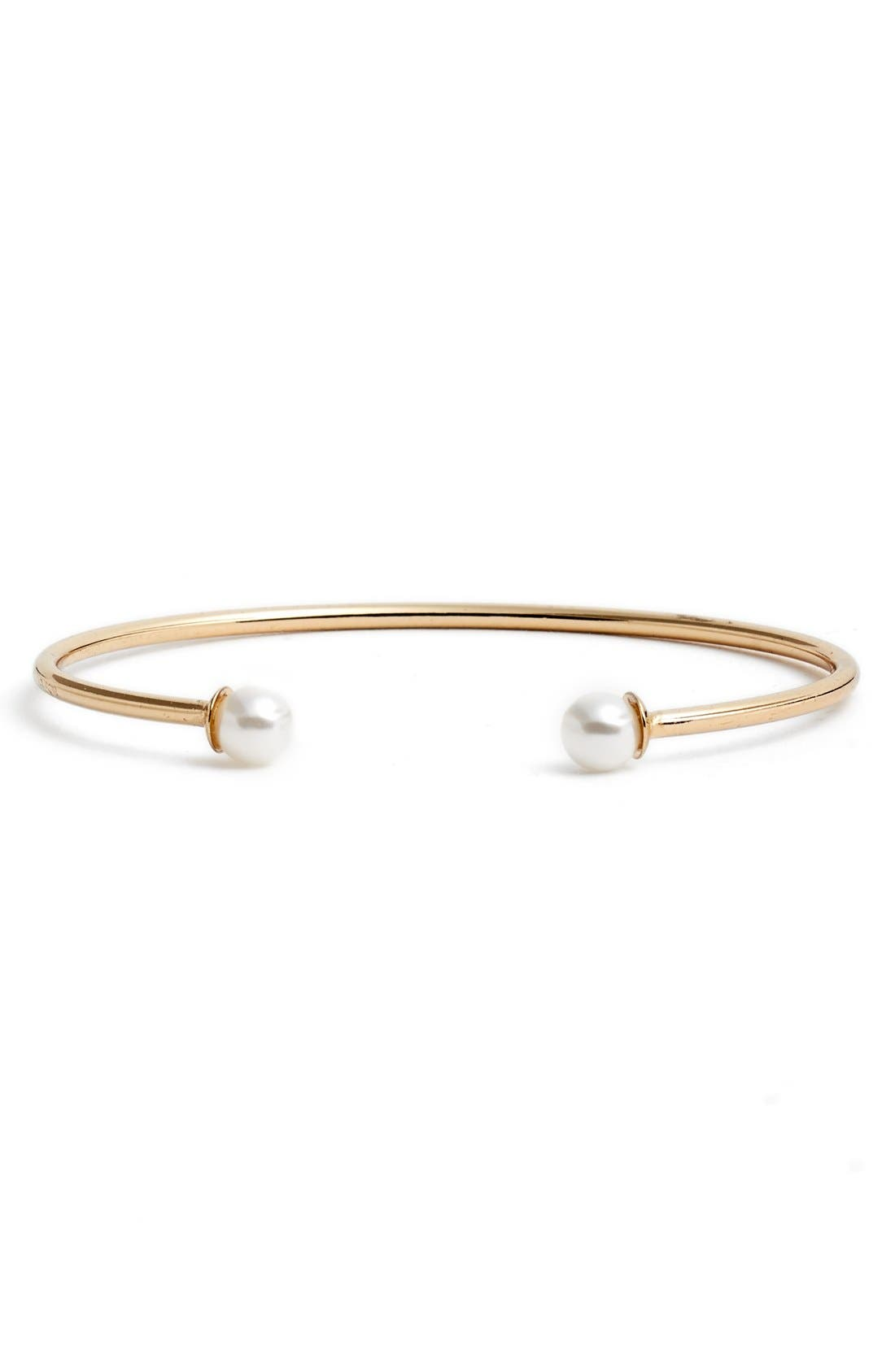 Alternate Image 1 Selected - BP. Faux Pearl Dainty Cuff