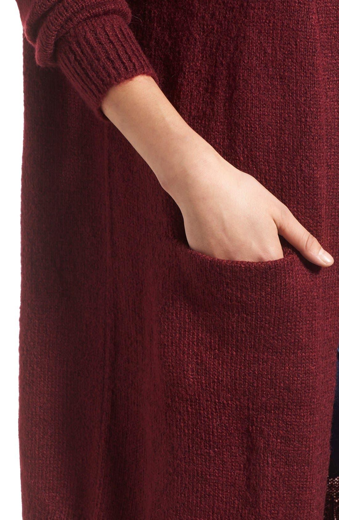Alternate Image 4  - J.O.A. Oversize Cardigan