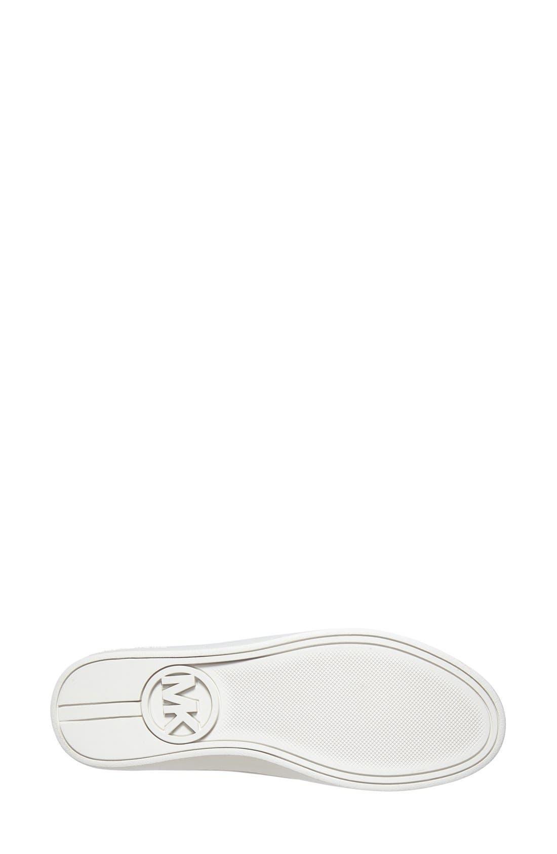 Alternate Image 4  - MICHAEL Michael Kors 'Colby' Textured Sneaker (Women)