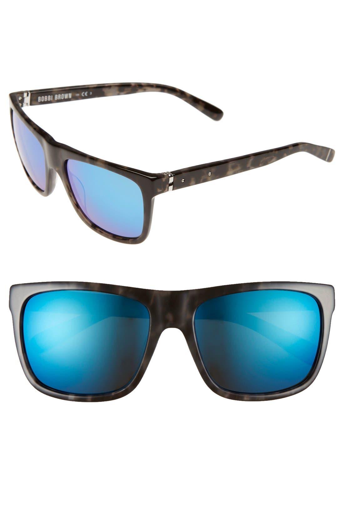 Alternate Image 1 Selected - Bobbi Brown 'The Harley' 55mm Sunglasses