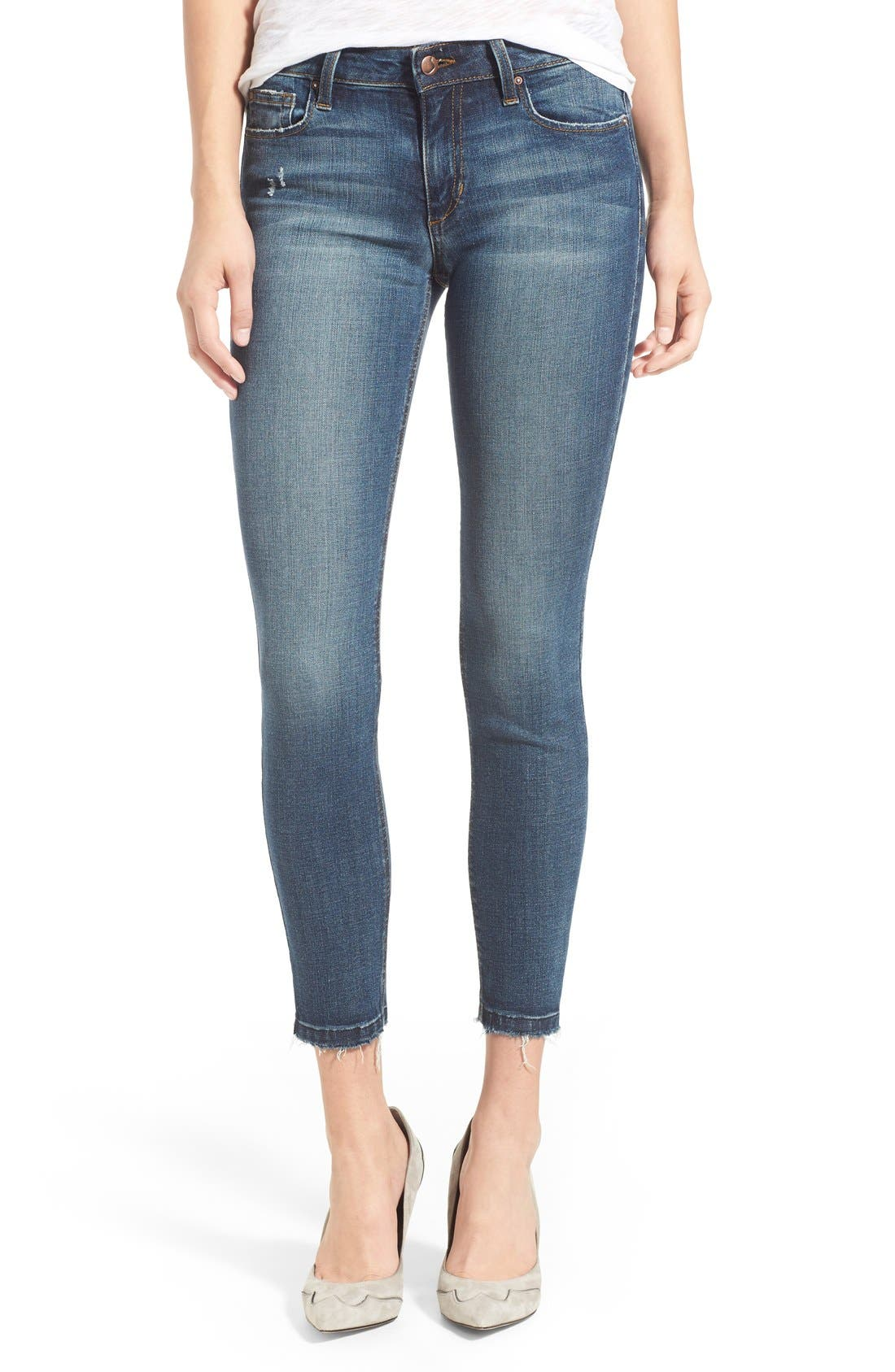 Main Image - Joe's 'Collector's - Icon' Ankle Skinny Jeans (Haylee)
