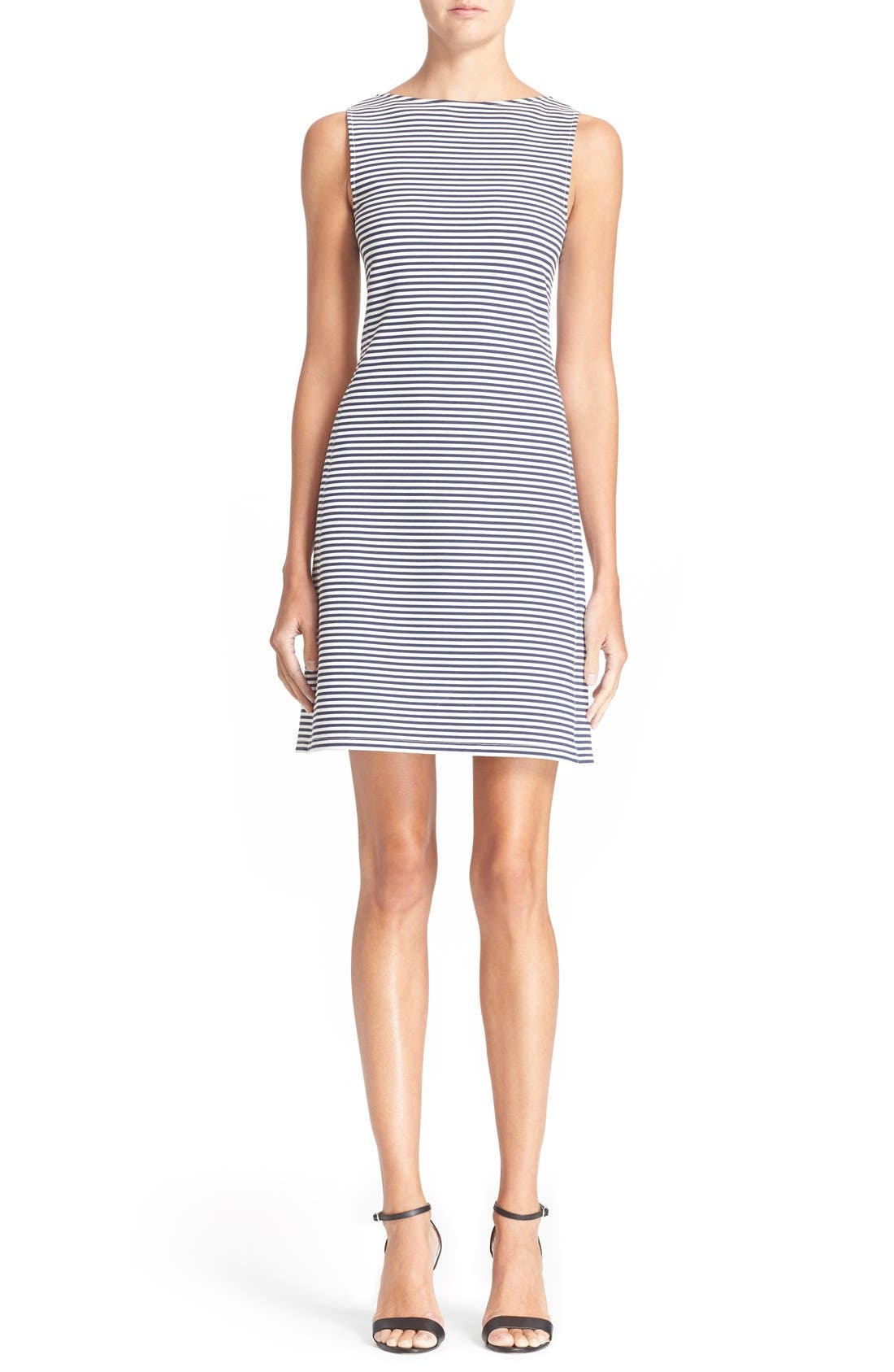 Alternate Image 1 Selected - Theory 'Mivrill' Stripe Sheath Dress