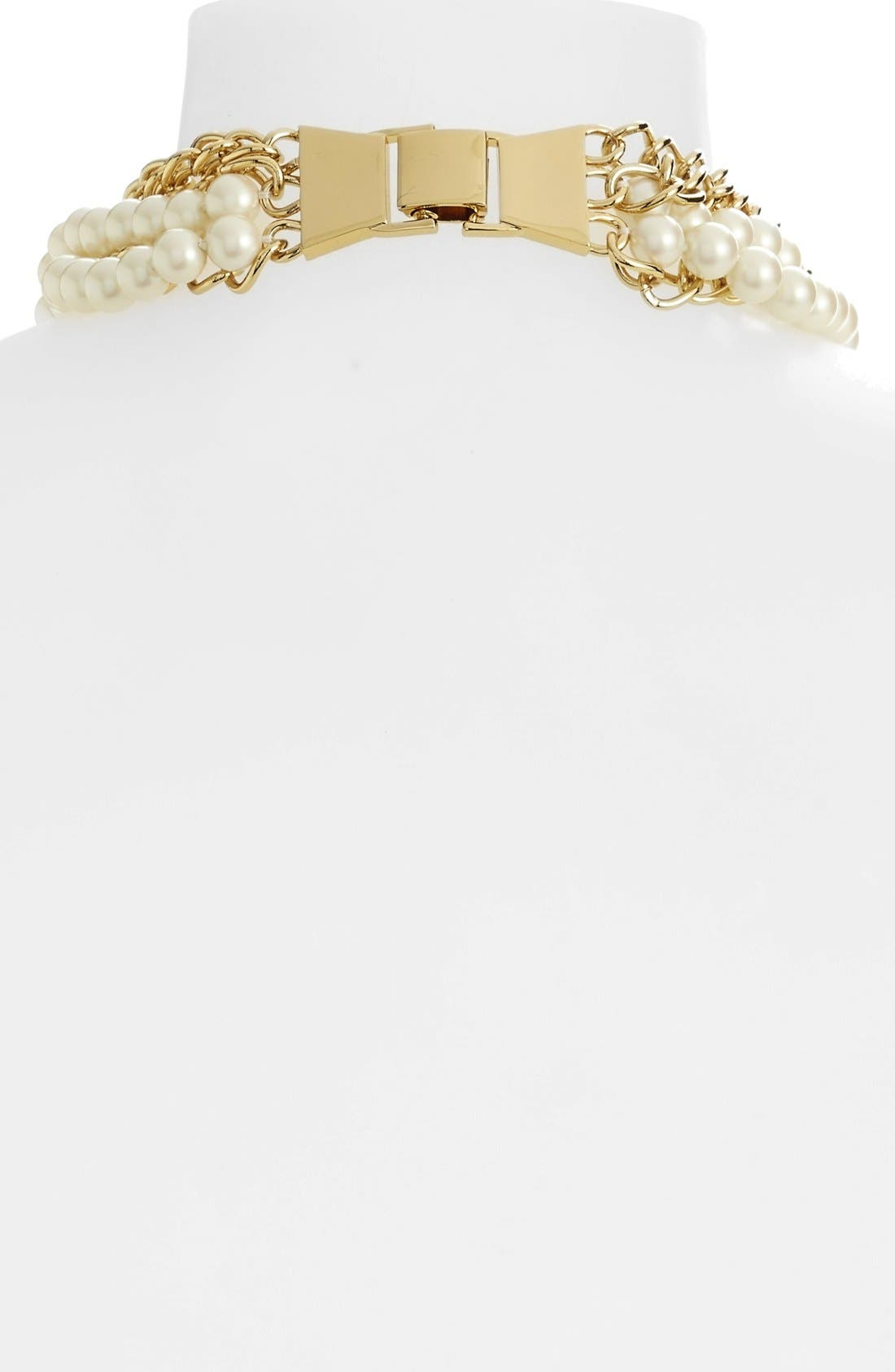Alternate Image 2  - kate spade new york 'purely pearl' faux pearl statement necklace