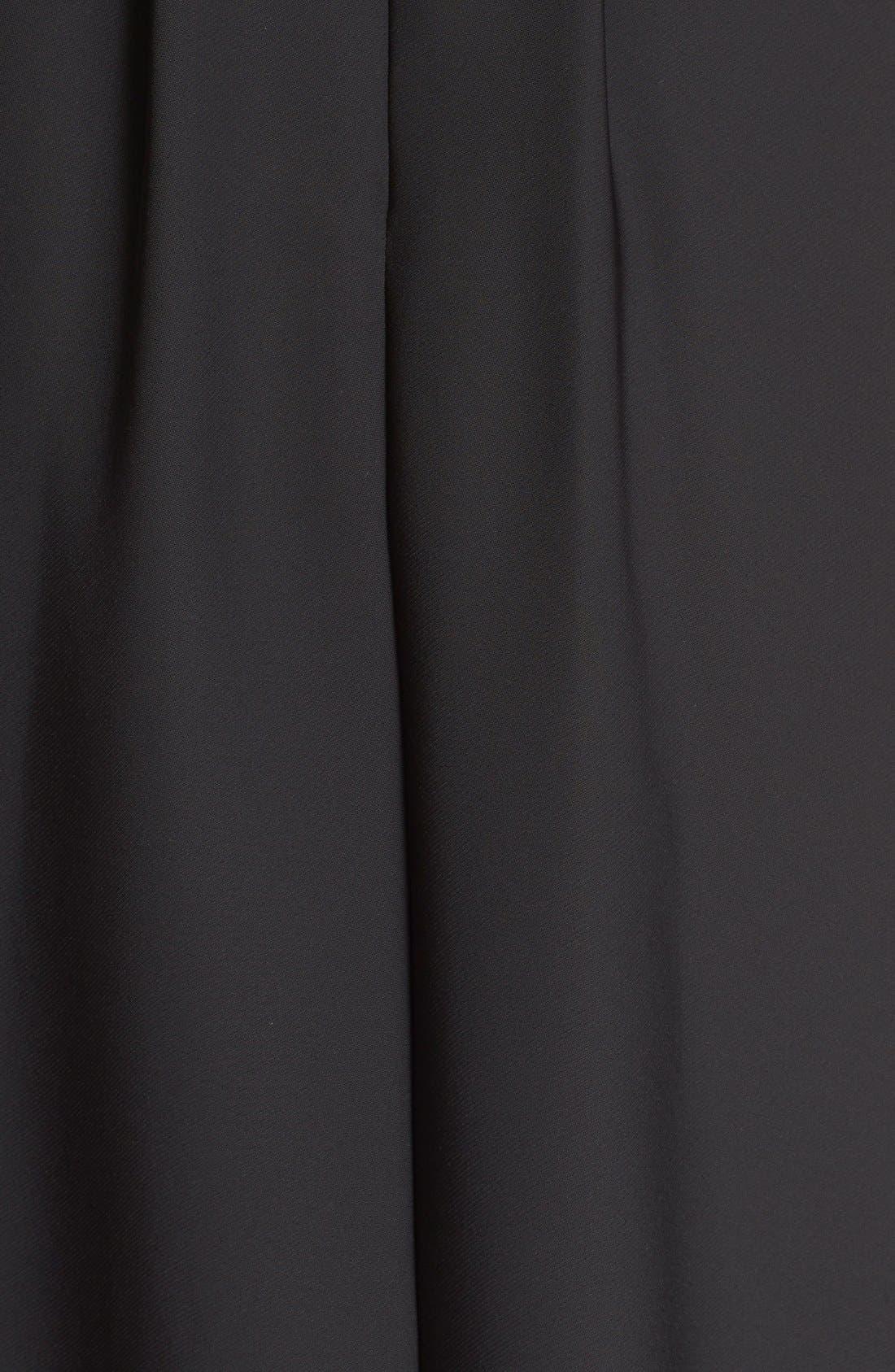Alternate Image 5  - Ted Baker London 'Shamari' Embroidered Bodice Midi Dress