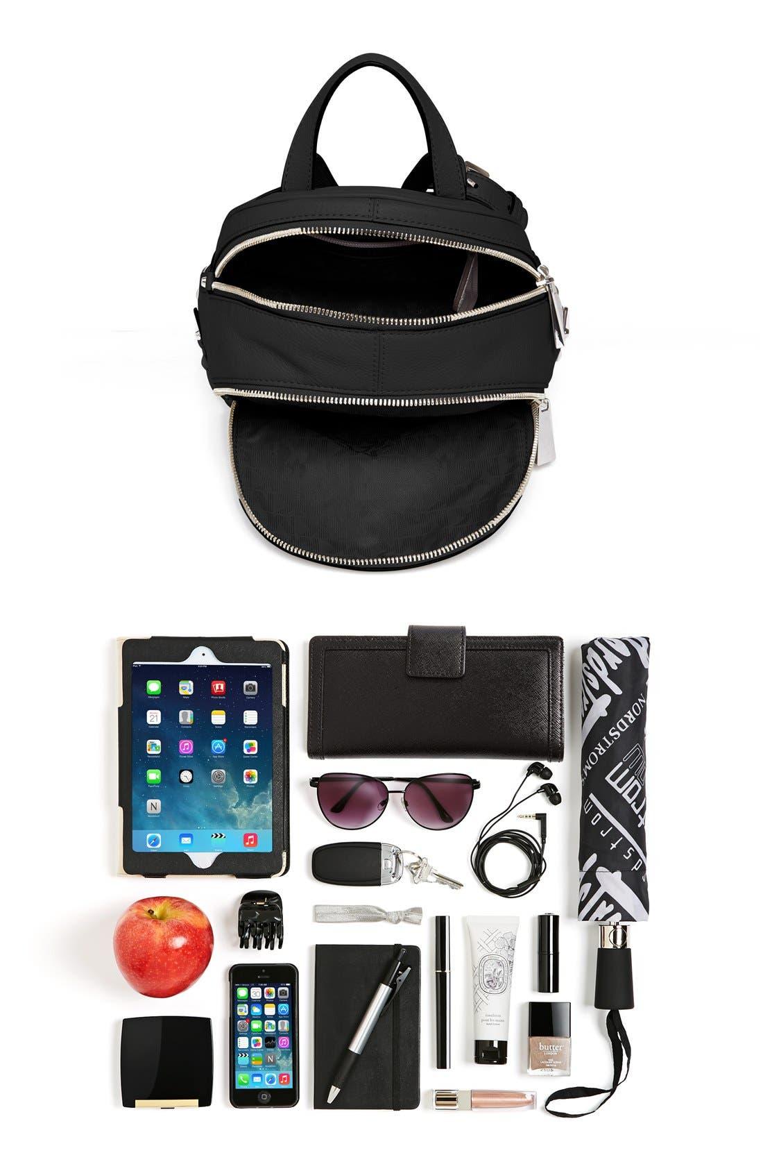 Alternate Image 7  - MICHAEL Michael Kors 'Small Rhea Zip' Studded Backpack