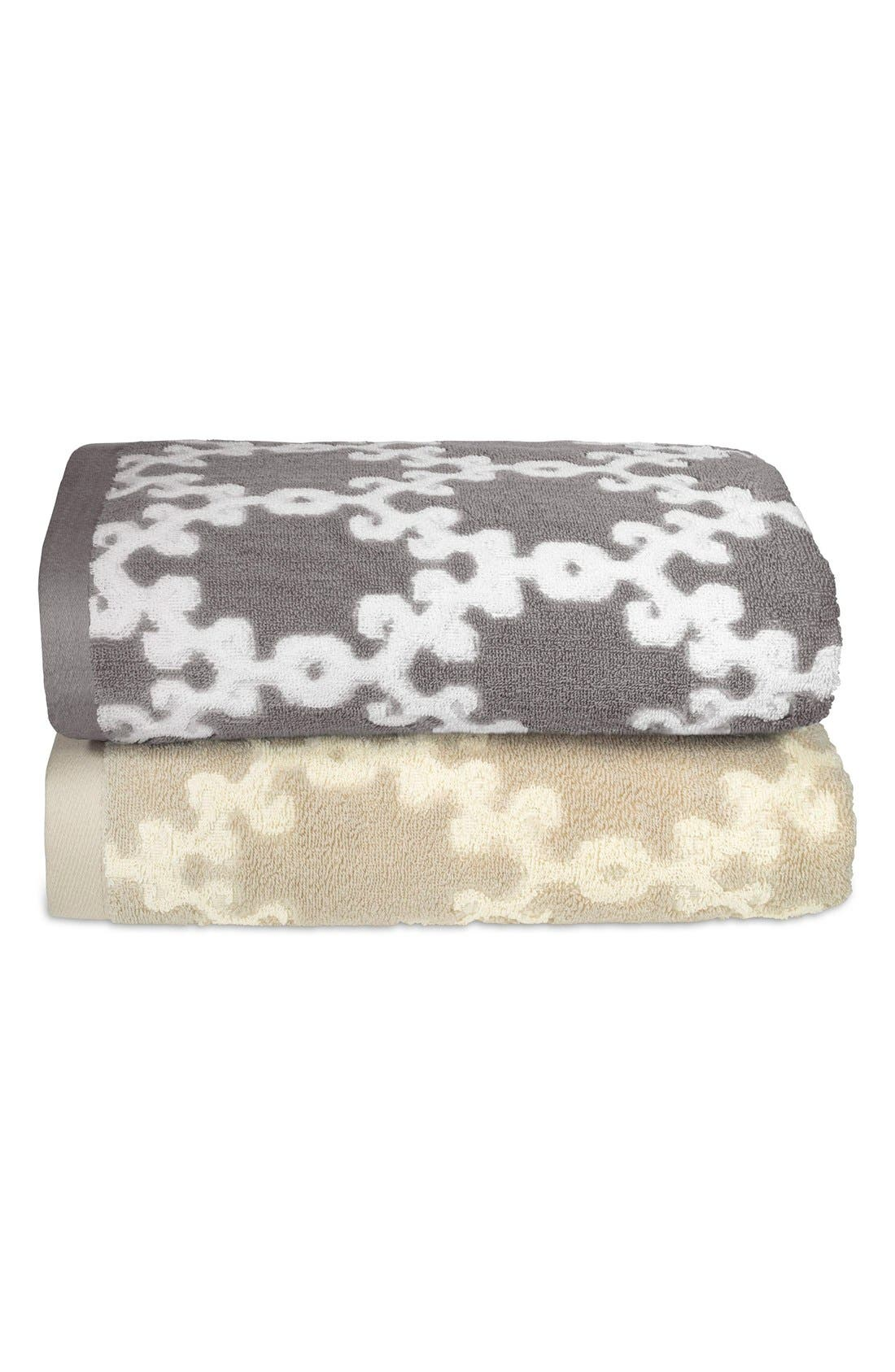 JOHN ROBSHAW 'Totem' Turkish Cotton Bath Towel