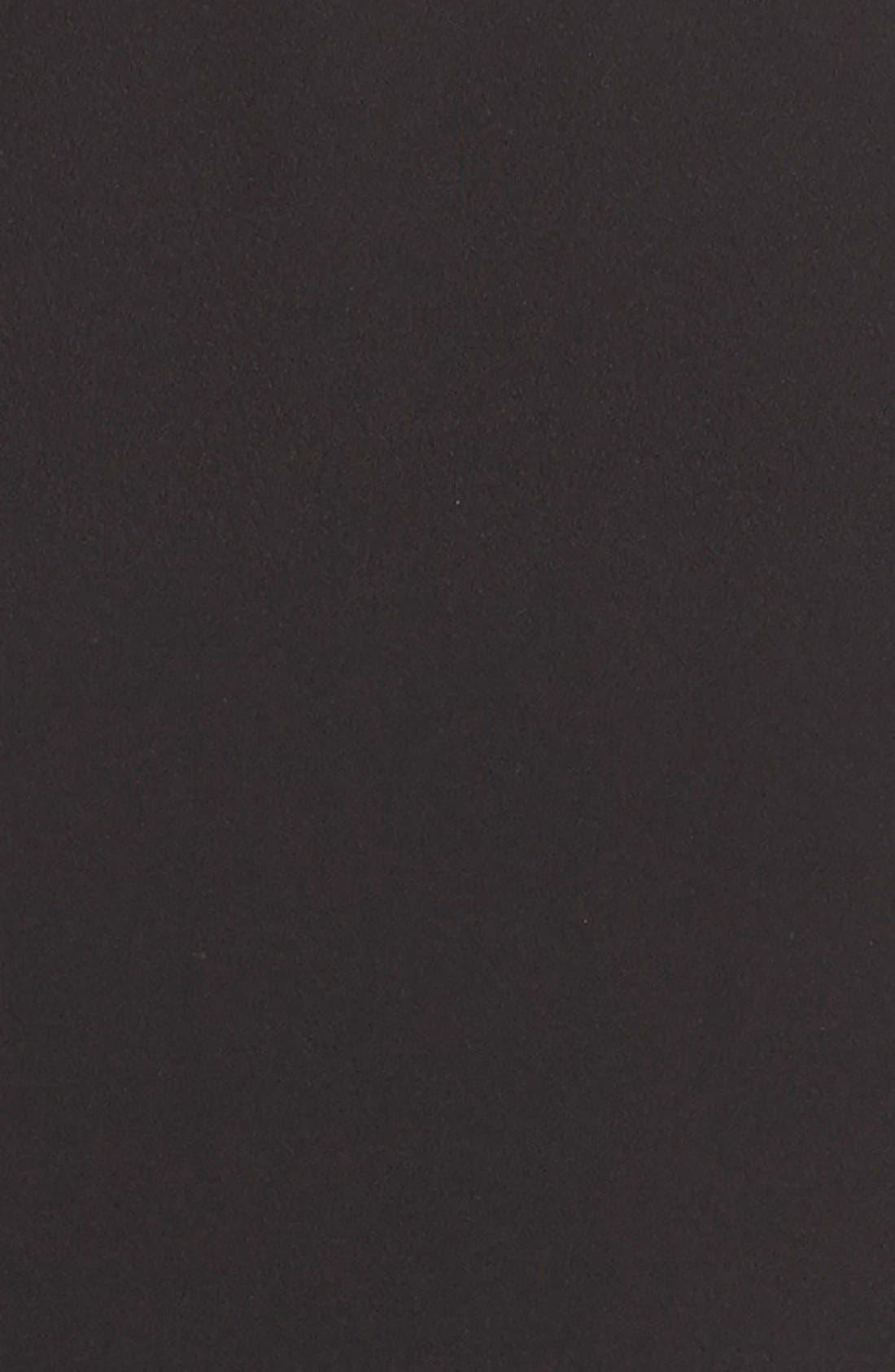 Alternate Image 6  - Tahari Crepe Shift Dress with Mesh Trim (Regular & Petite)
