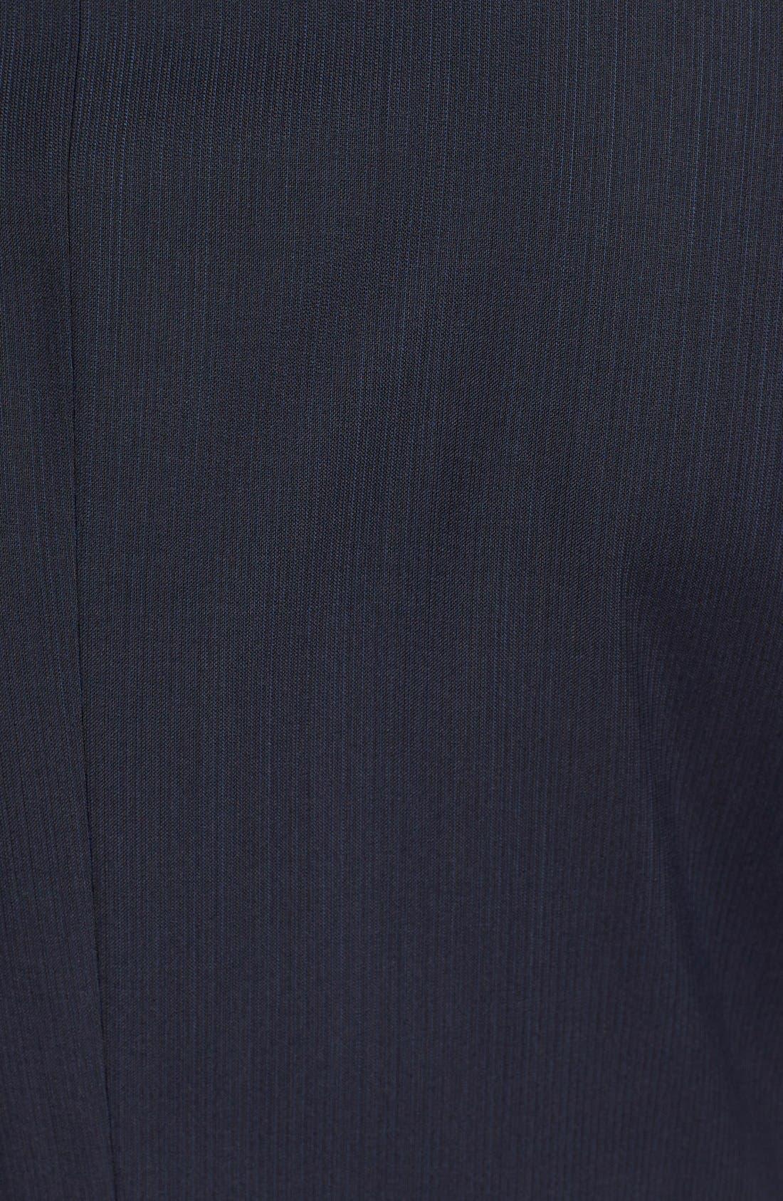 Alternate Image 7  - BOSS 'James/Sharp' Trim Fit Stripe Wool Suit