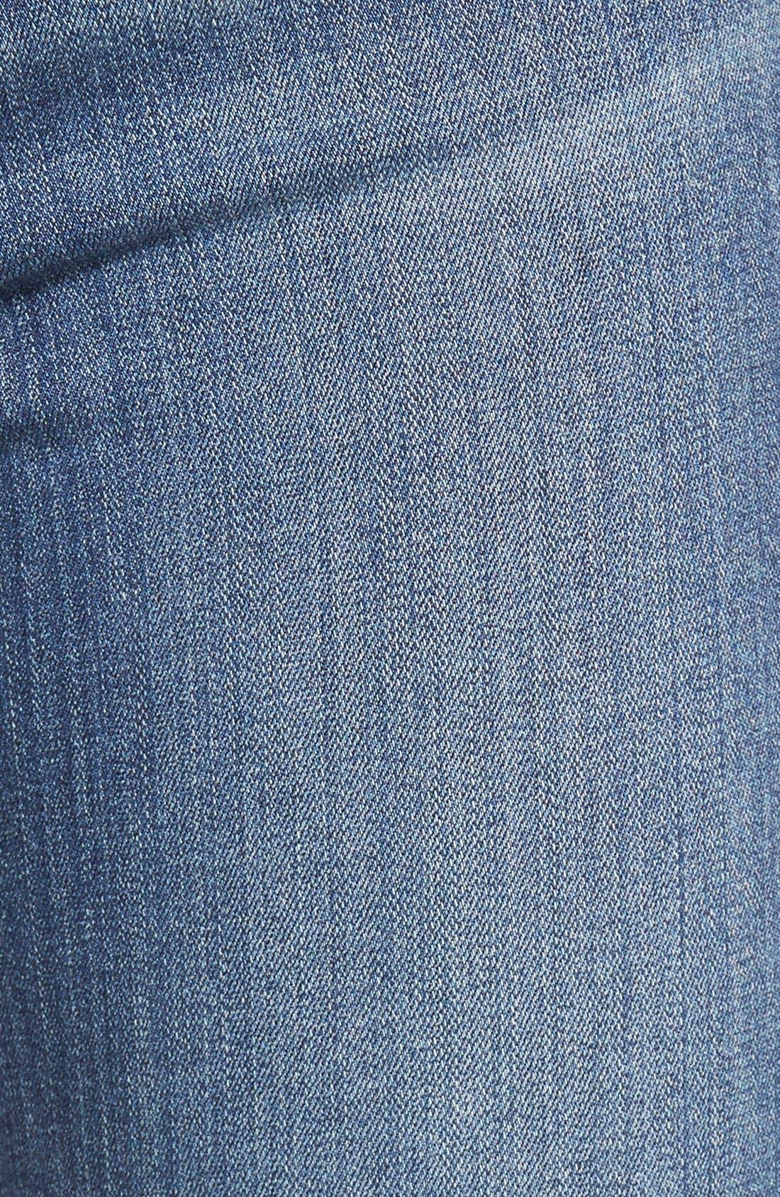 Alternate Image 5  - Paige Denim 'Transcend - Hoxton' High Rise Ankle Ultra Skinny Jeans (Linden)