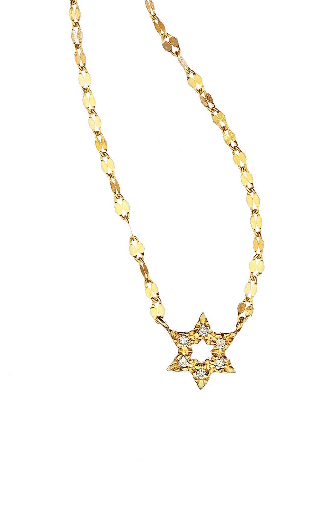 Lana Jewelry 'Star of David' Diamond Pendant Necklace