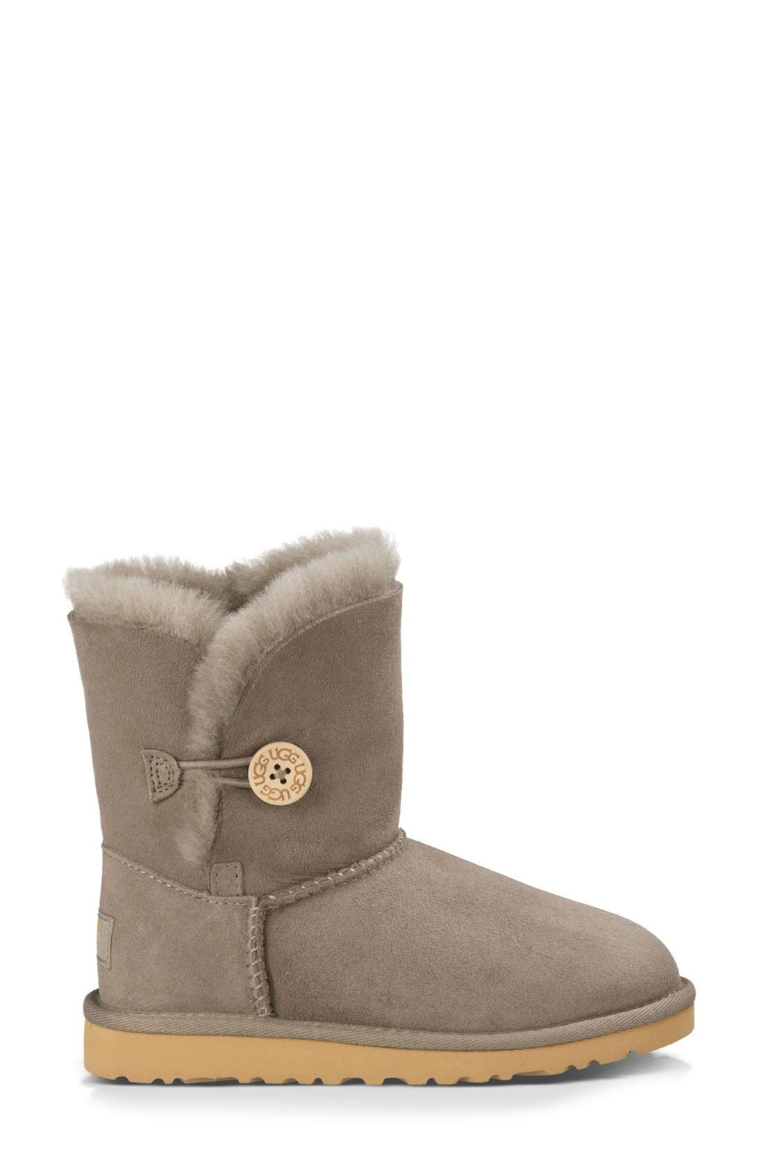 Alternate Image 4  - UGG® 'Bailey Button' Boot (Walker, Toddler, Little Kid & Big Kid)