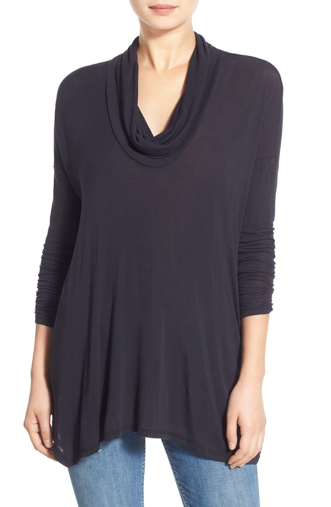 Main Image - Lush Cowl Neck Sweater