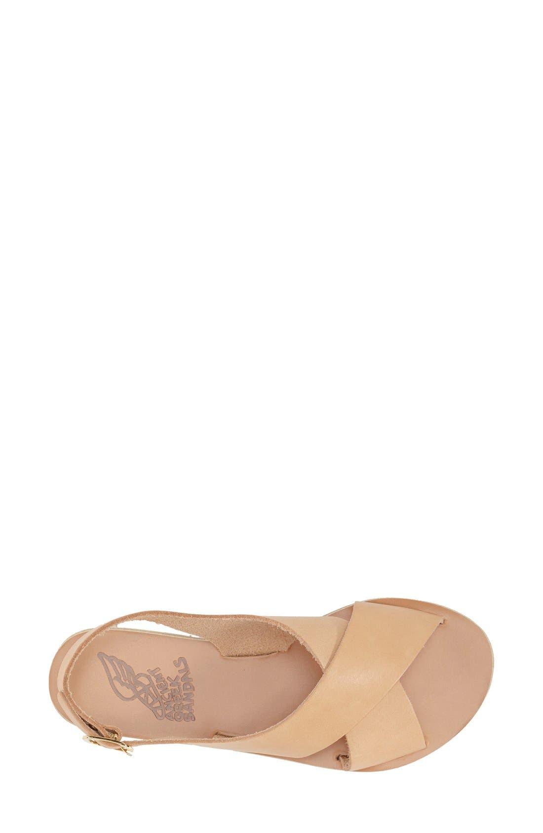 Alternate Image 3  - Ancient Greek Sandals 'Maria' Leather Slingback Sandal