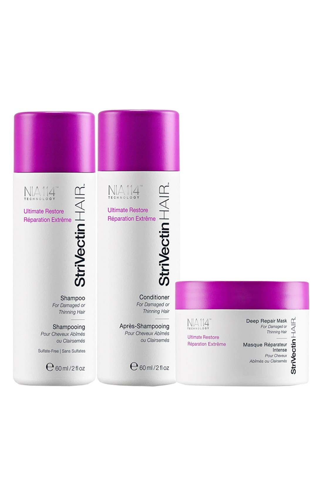 StriVectinHAIR™ 'Ultimate Restore' Starter Trio for Damaged or Thinning Hair