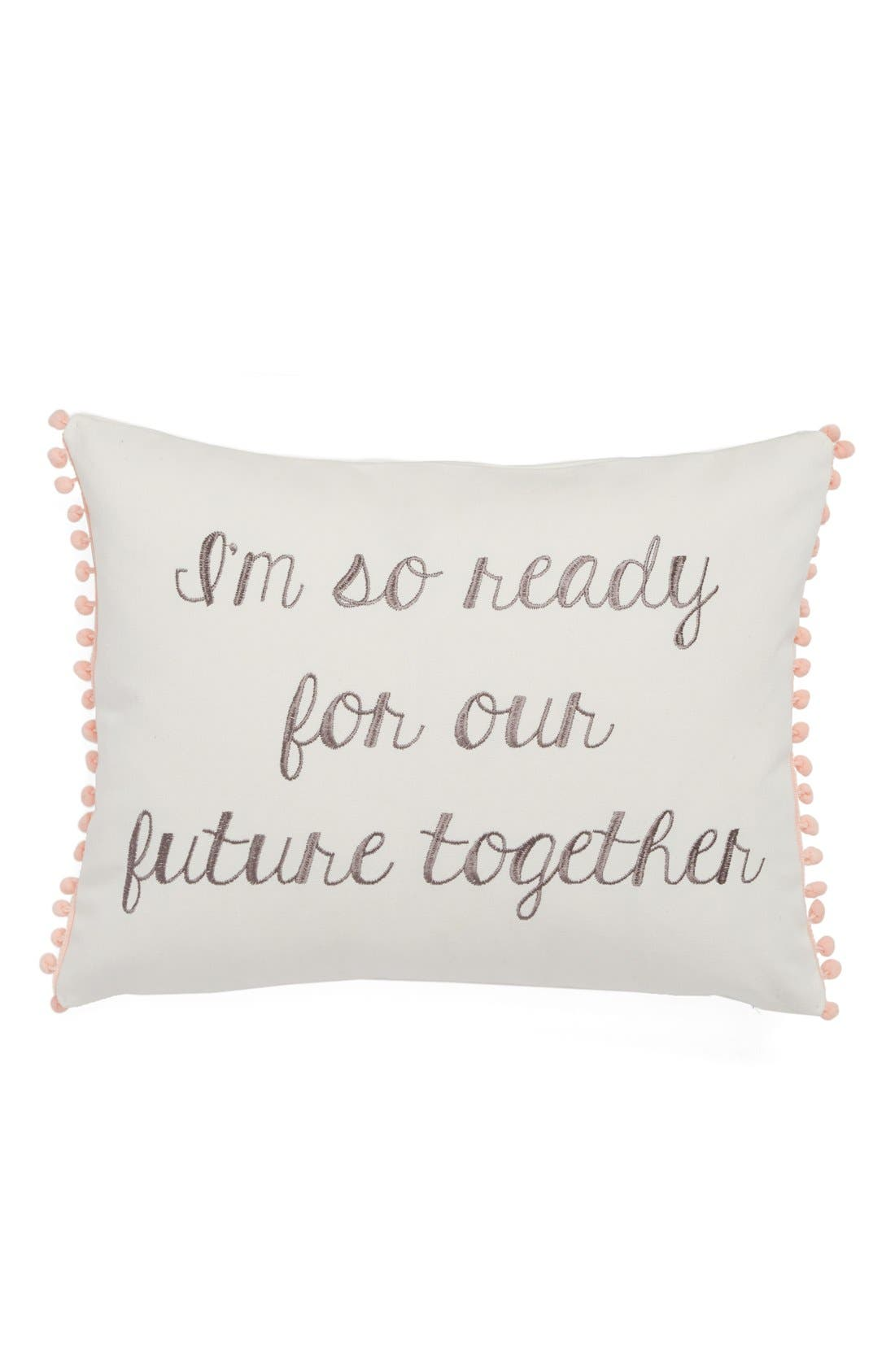 Alternate Image 1 Selected - Levtex 'Ready for Our Future' Pillow