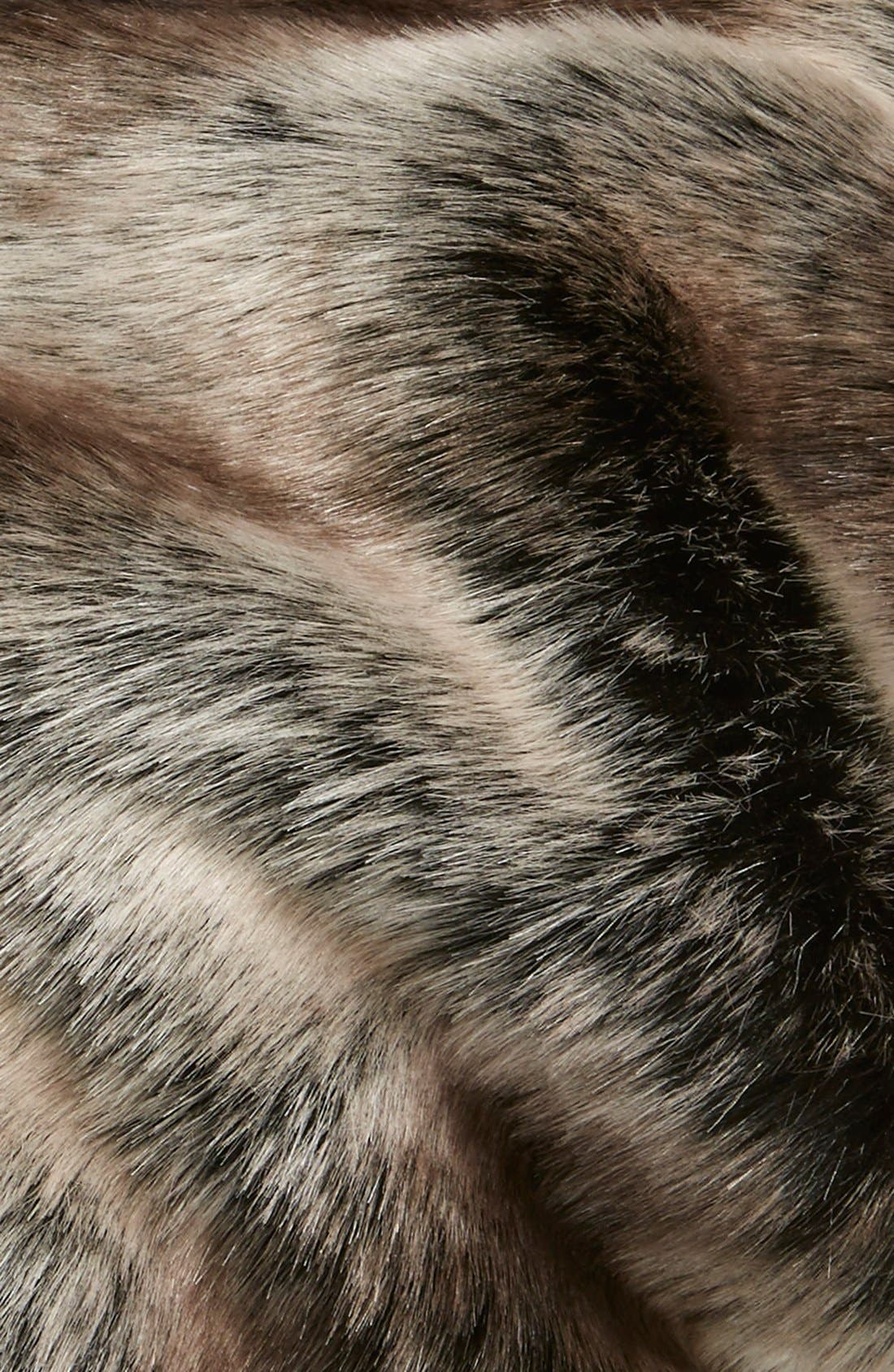 Alternate Image 2  - Parkhurst Slouchy Faux Fur Beanie with Pompom