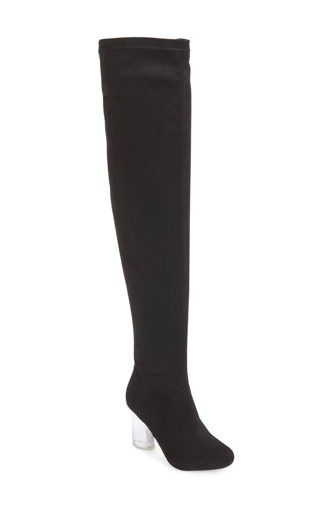 Alternate Image 1 Selected - Jeffrey Campbell 'Paradox' Over the Knee Boot (Women)