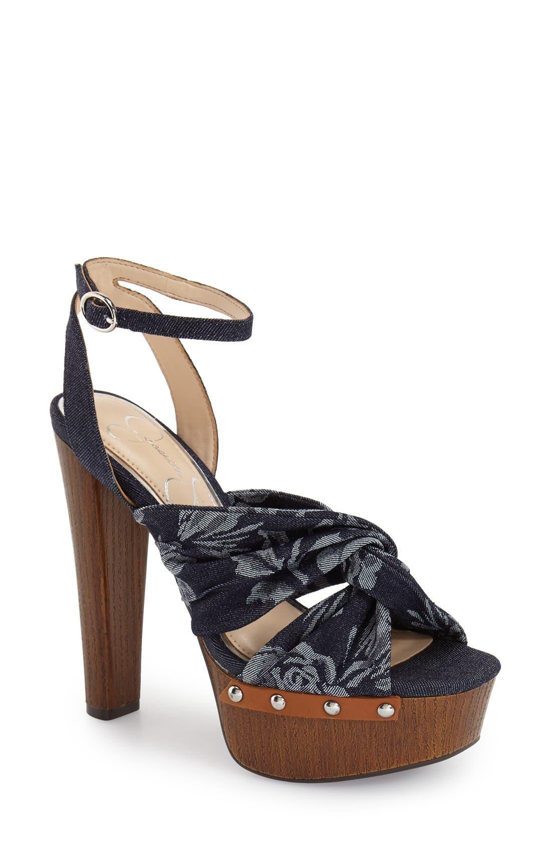 JESSICA SIMPSON 'Alladee' Platform Sandal