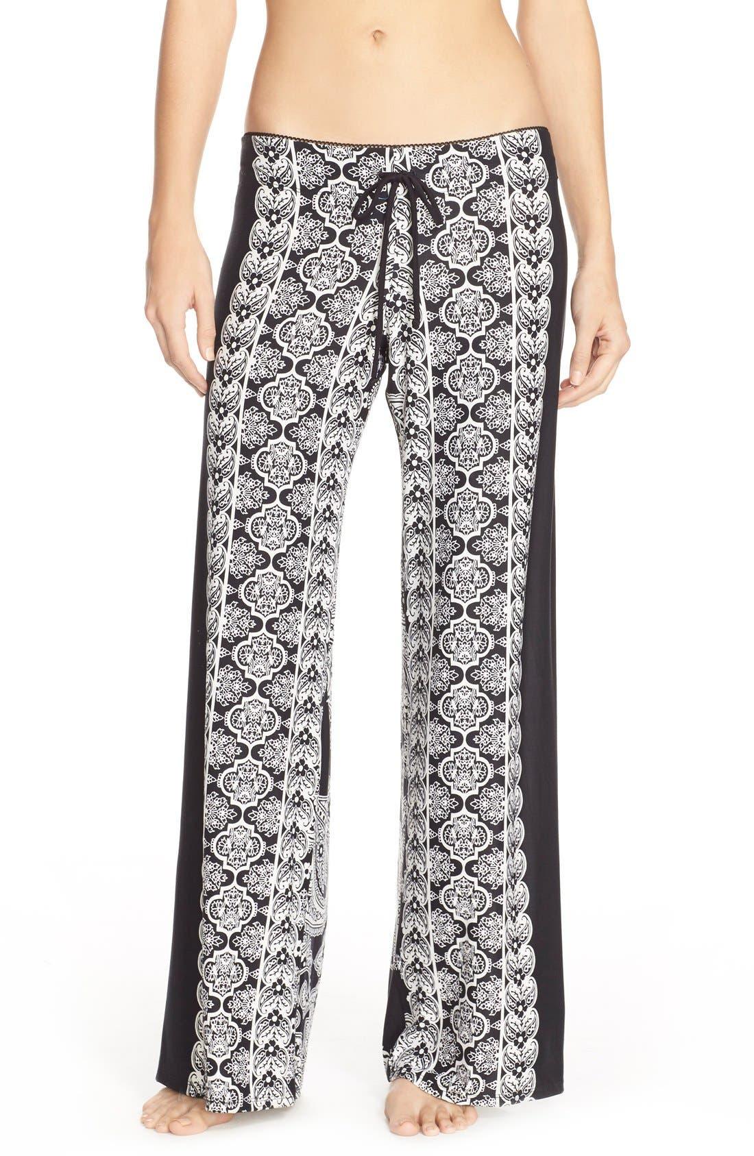 Alternate Image 1 Selected - In Bloom by Jonquil Print Pajama Pants