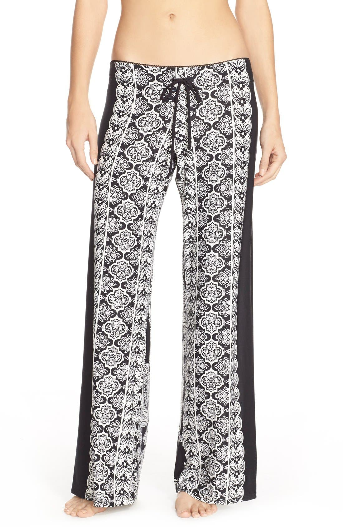 Main Image - In Bloom by Jonquil Print Pajama Pants