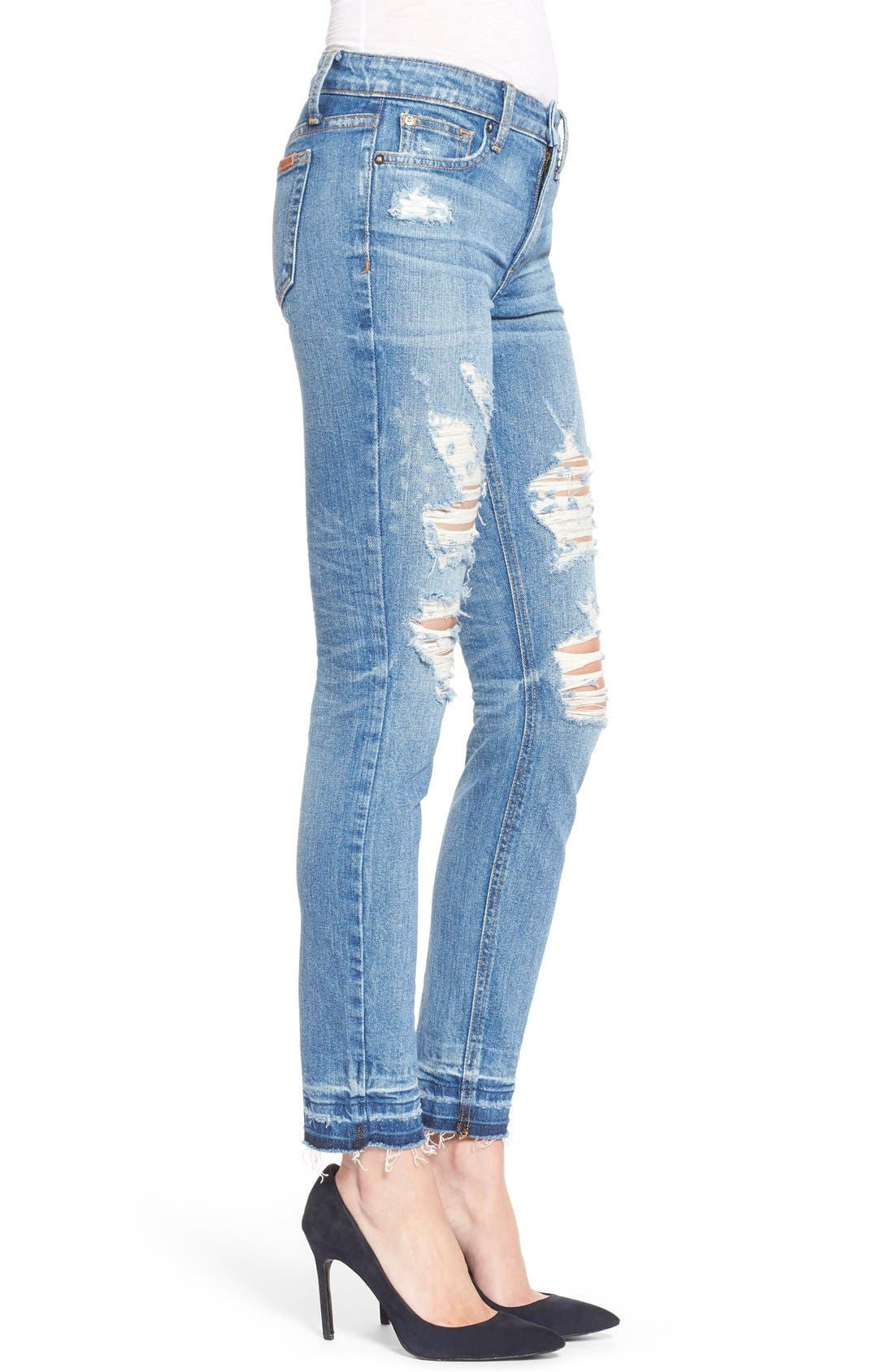 Alternate Image 3  - Joe's 'Collector's - Icon' Destroyed Ankle Skinny Jeans (Mazie)