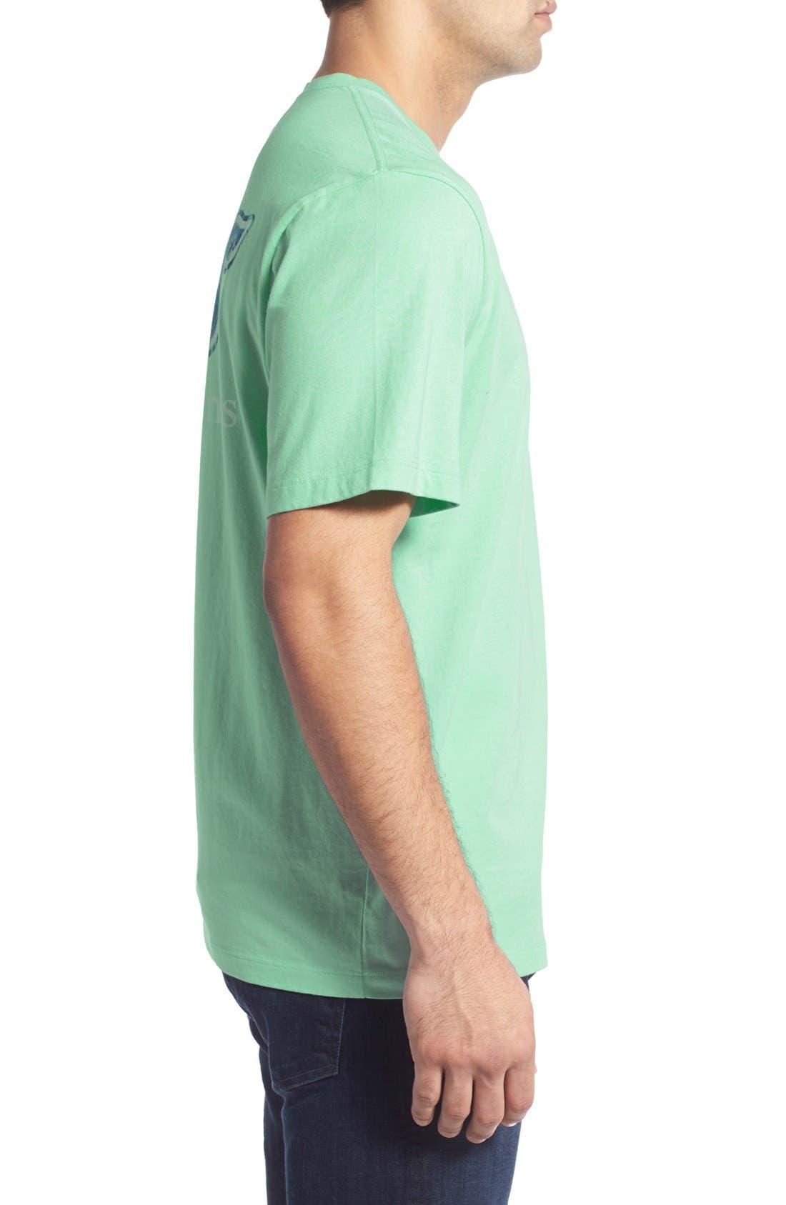 Alternate Image 3  - Vineyard Vines 'Date Palm Whale' Graphic T-Shirt