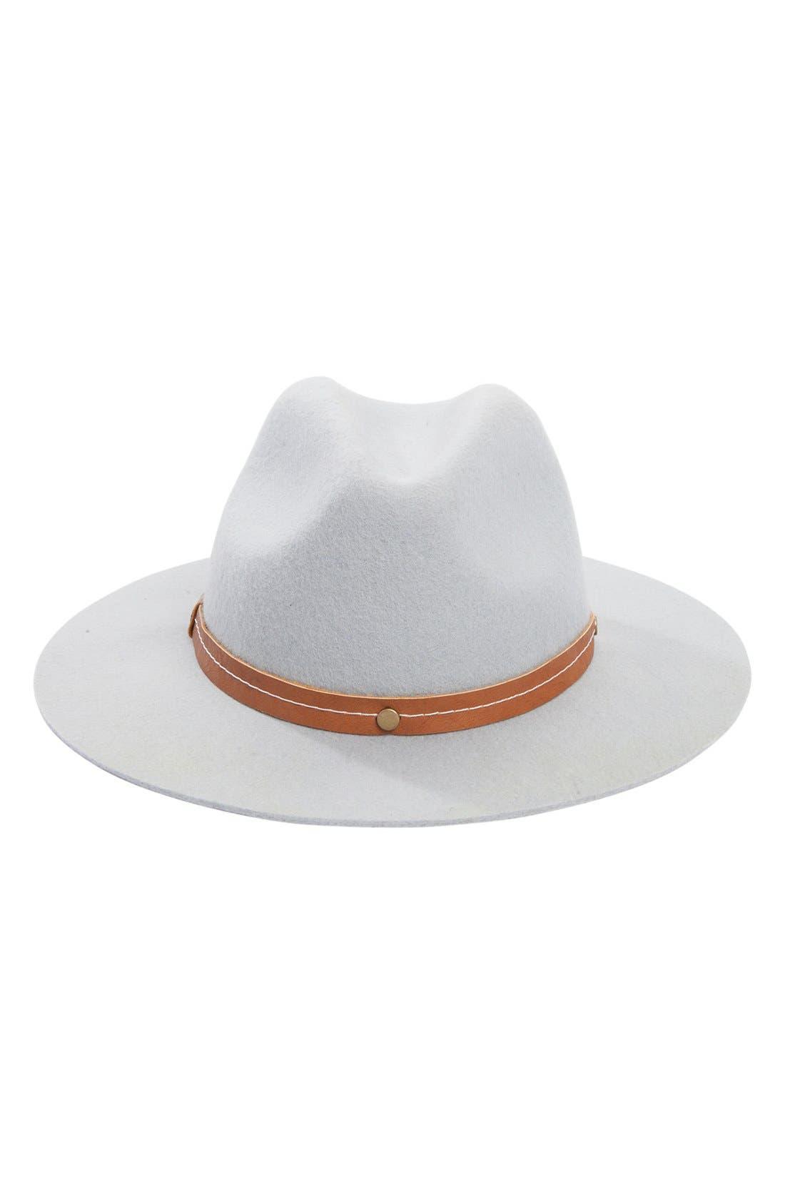Alternate Image 1 Selected - Billabong 'Moon Gaze' Wool Panama Hat
