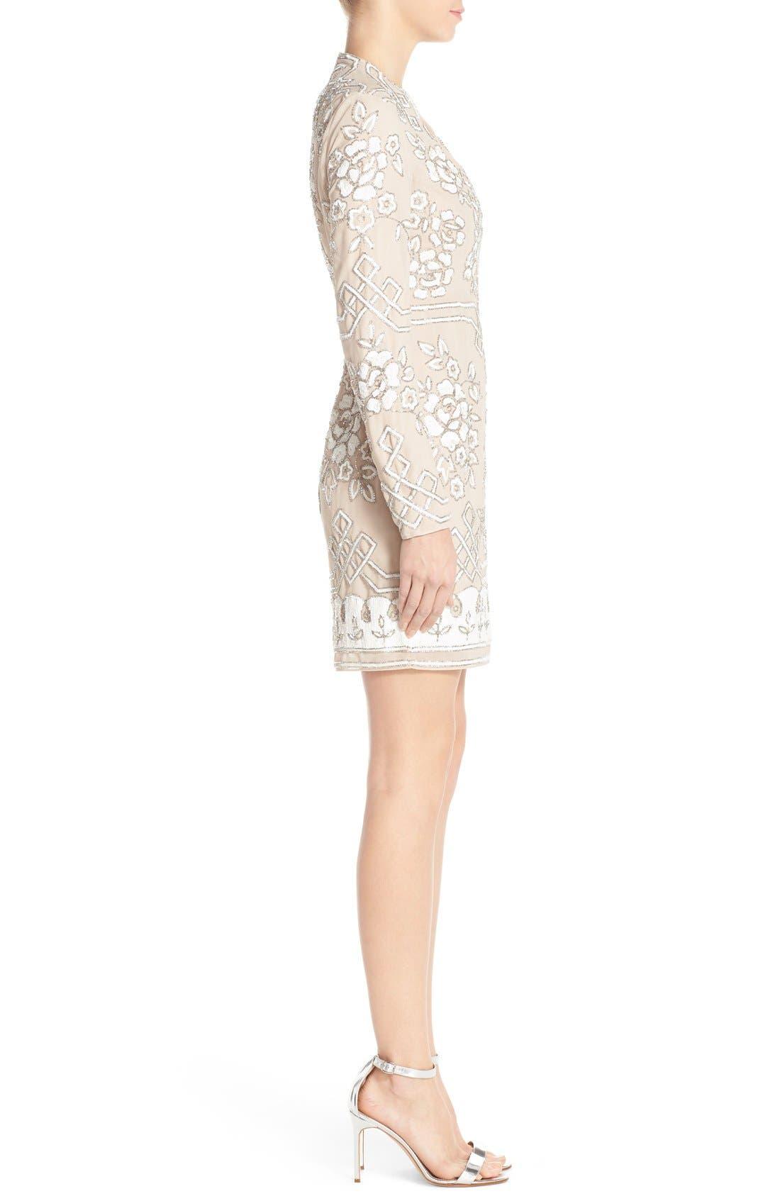 Alternate Image 3  - Needle & Thread Embellished Long Sleeve Minidress