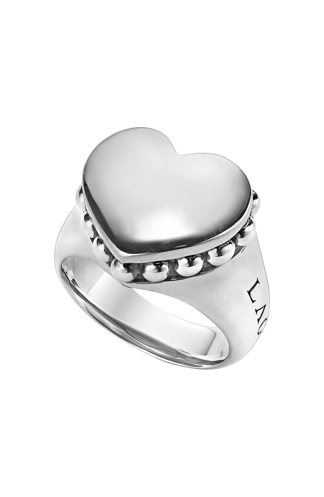 LAGOS 'Beloved' Large Heart Ring
