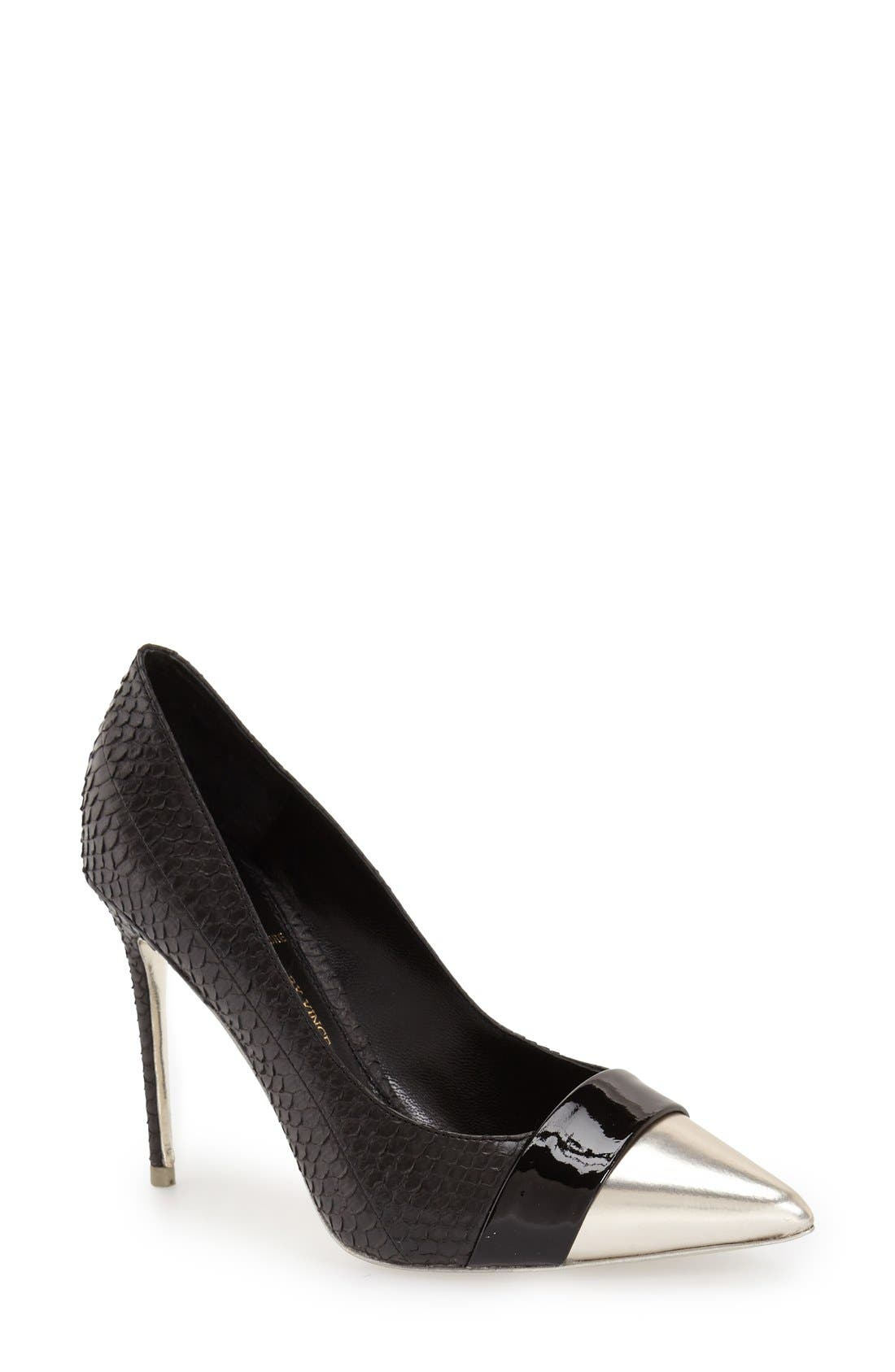 Alternate Image 1 Selected - VC Signature 'Ville' Pointy Toe Pump (Women)