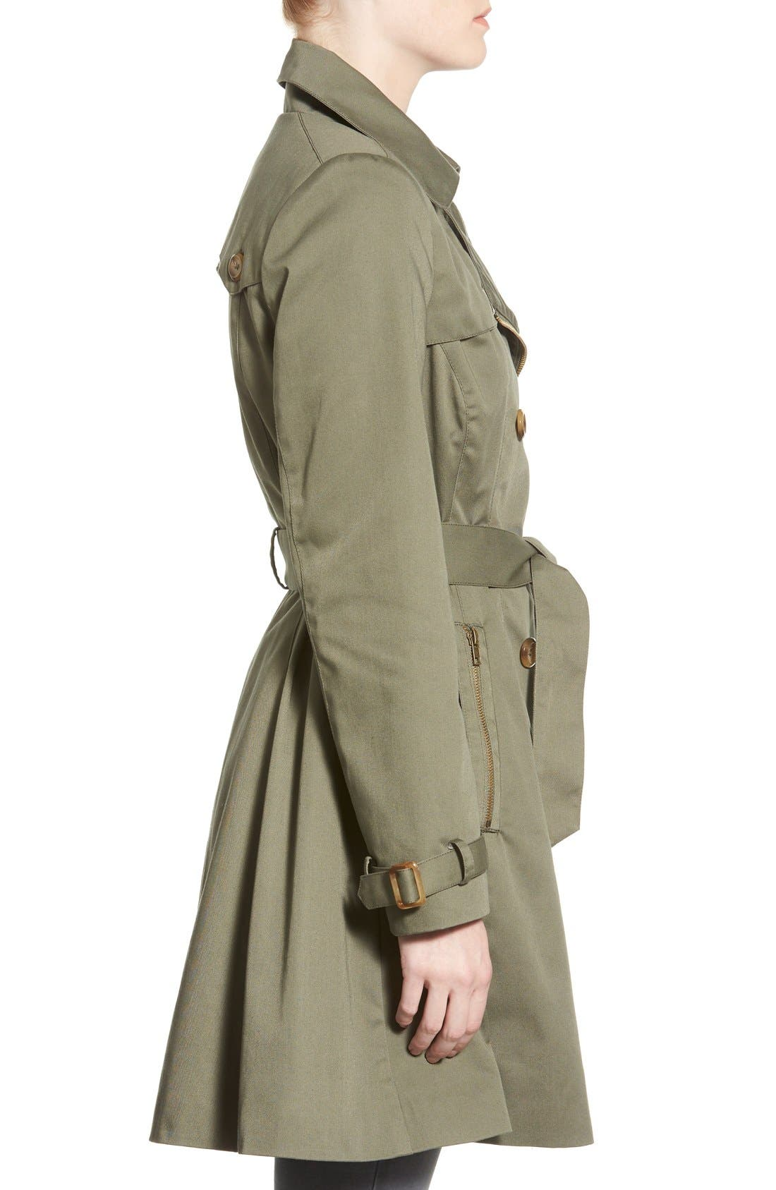 Alternate Image 3  - Coffee Shop Trench Coat