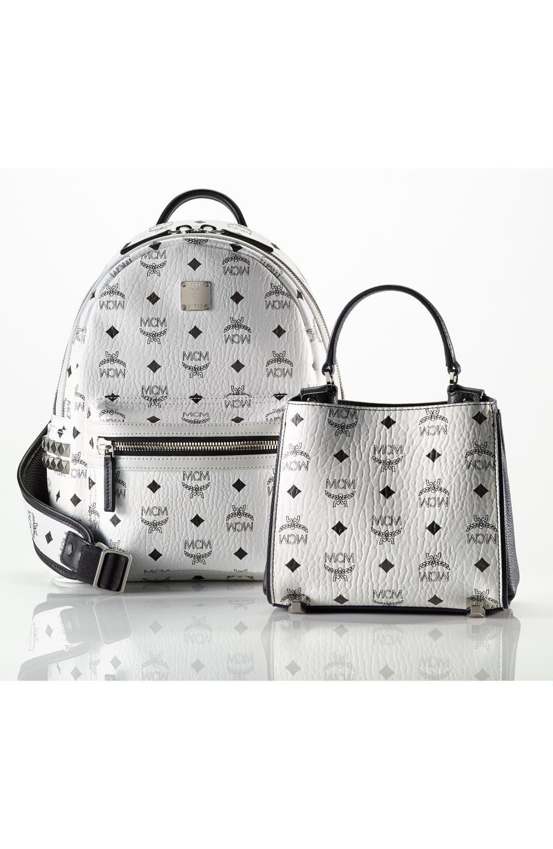 Alternate Image 8  - MCM 'Small Stark' Side Stud Backpack