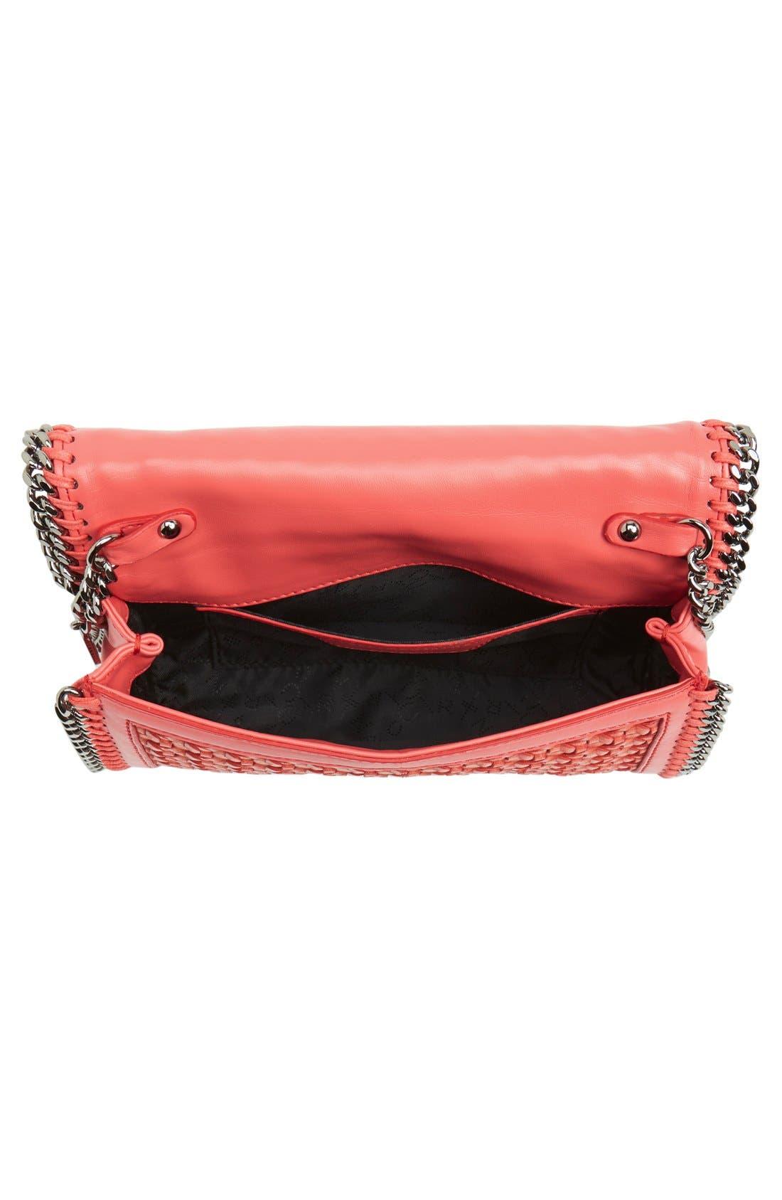 Alternate Image 4  - Stella McCartney 'Falabella - Caned' Faux Leather Crossbody Bag