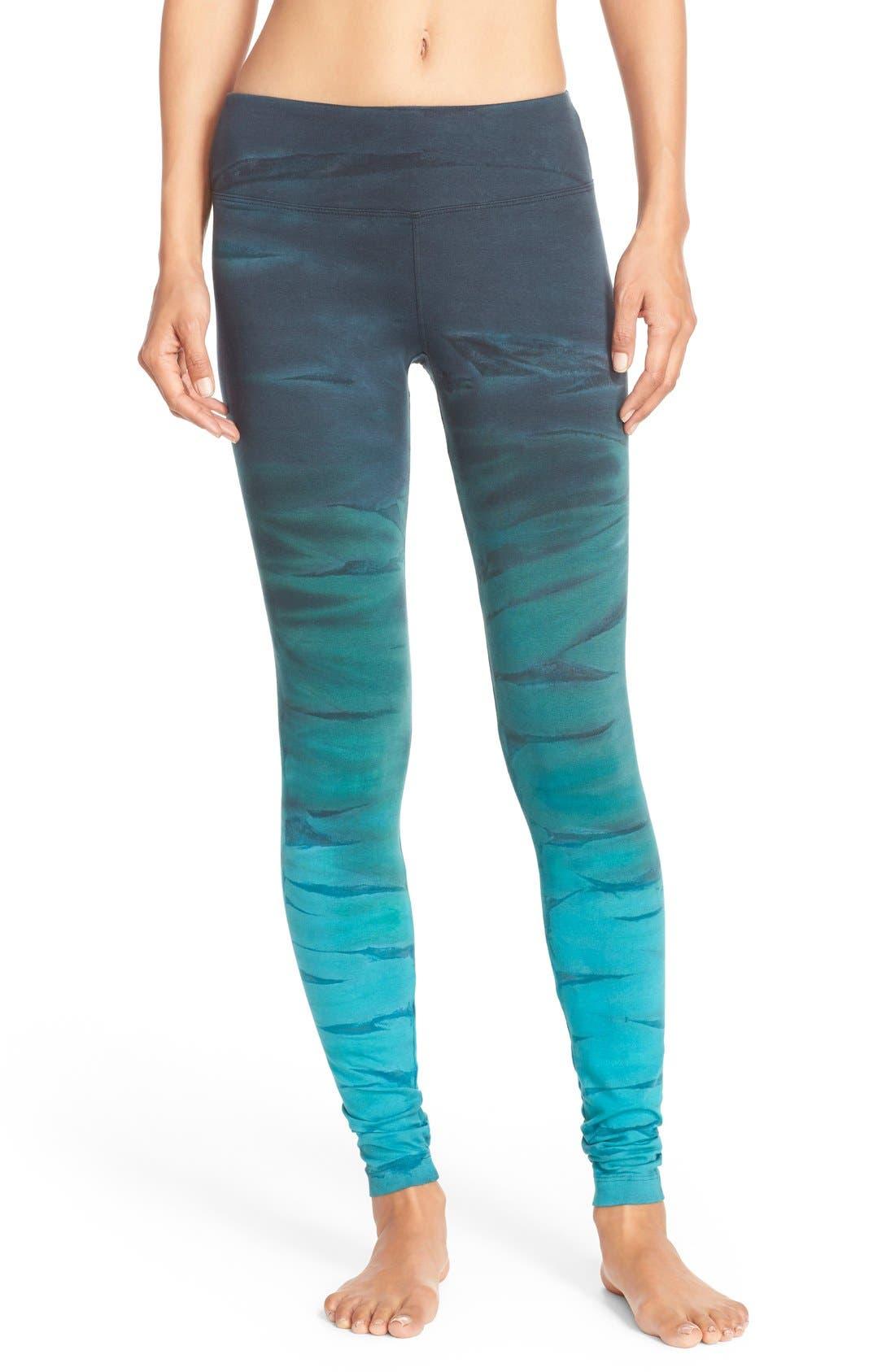 Alternate Image 1 Selected - Hard Tail Tie Dye Leggings