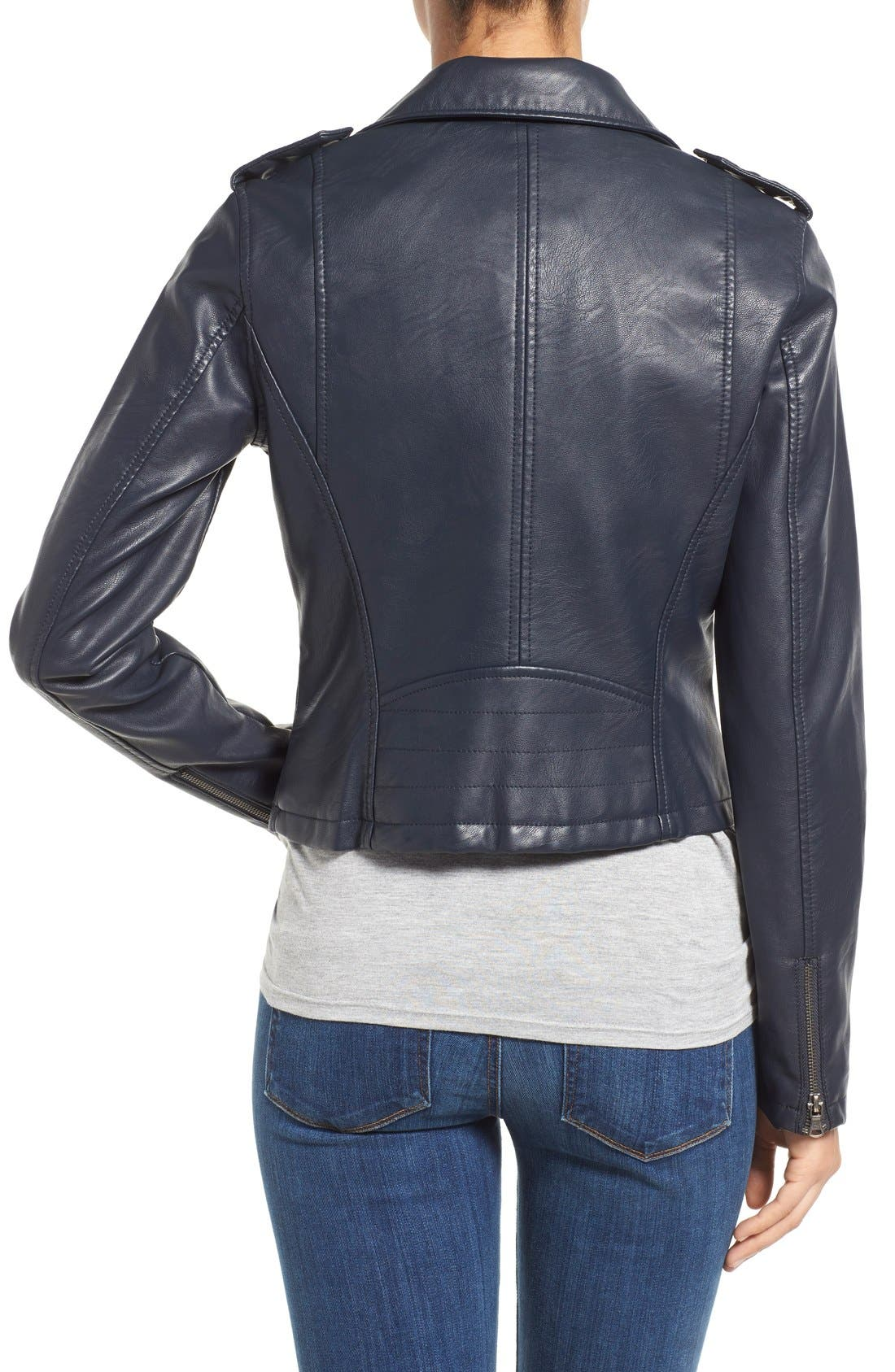 Alternate Image 2  - Levi's® Faux Leather Moto Jacket