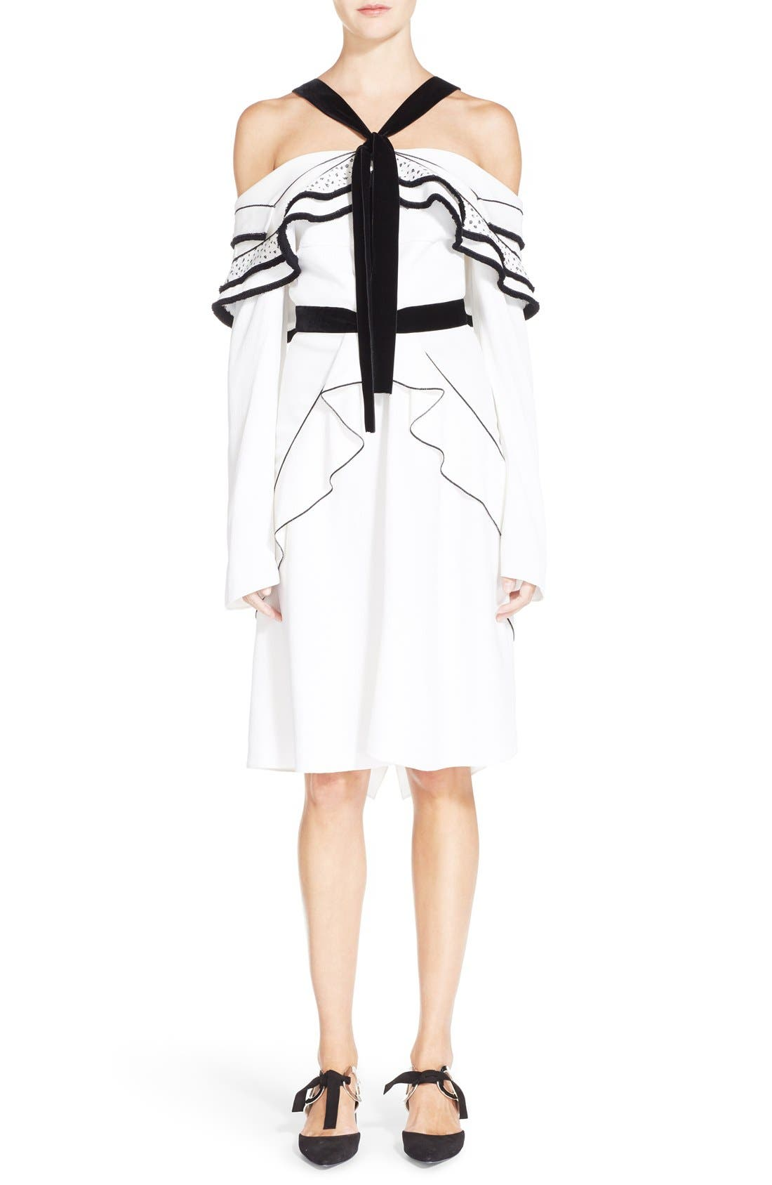 Alternate Image 1 Selected - Proenza Schouler Ruffle Off the Shoulder Dress