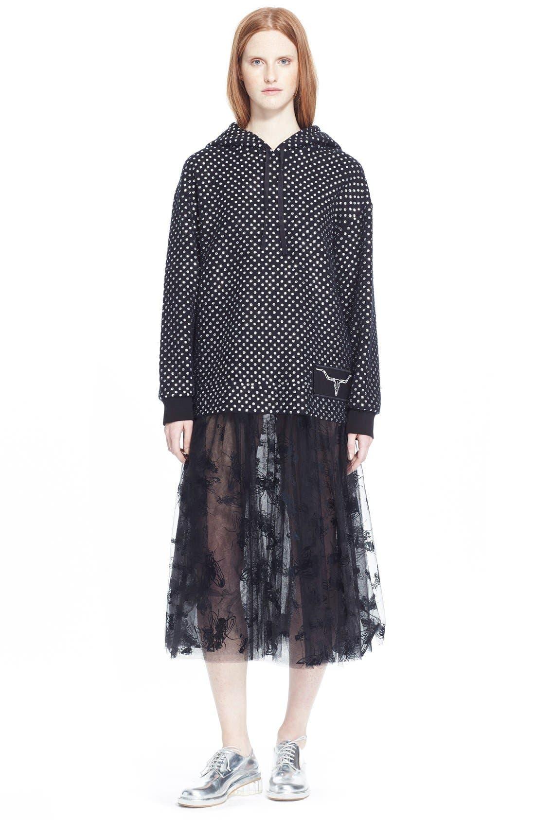 Alternate Image 7  - Ashley Williams 'Flock Fly' Sheer Tulle Skirt
