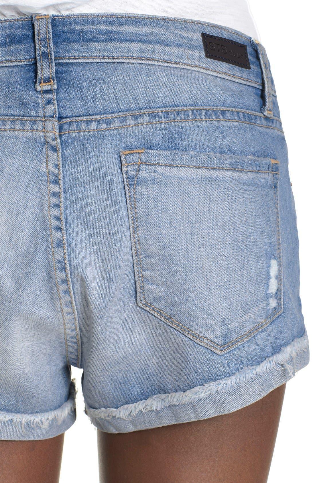Alternate Image 4  - STS Blue Boyfriend Shorts