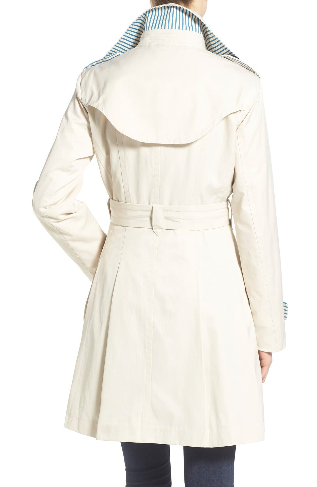 Alternate Image 2  - Nanette Lepore Twill Trench Coat