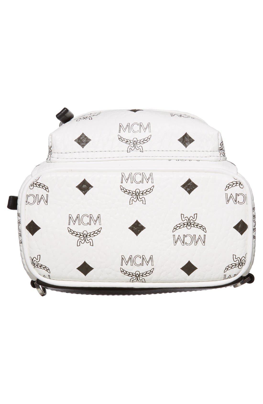 Alternate Image 6  - MCM 'X-Mini Stark Side Stud' Convertible Backpack