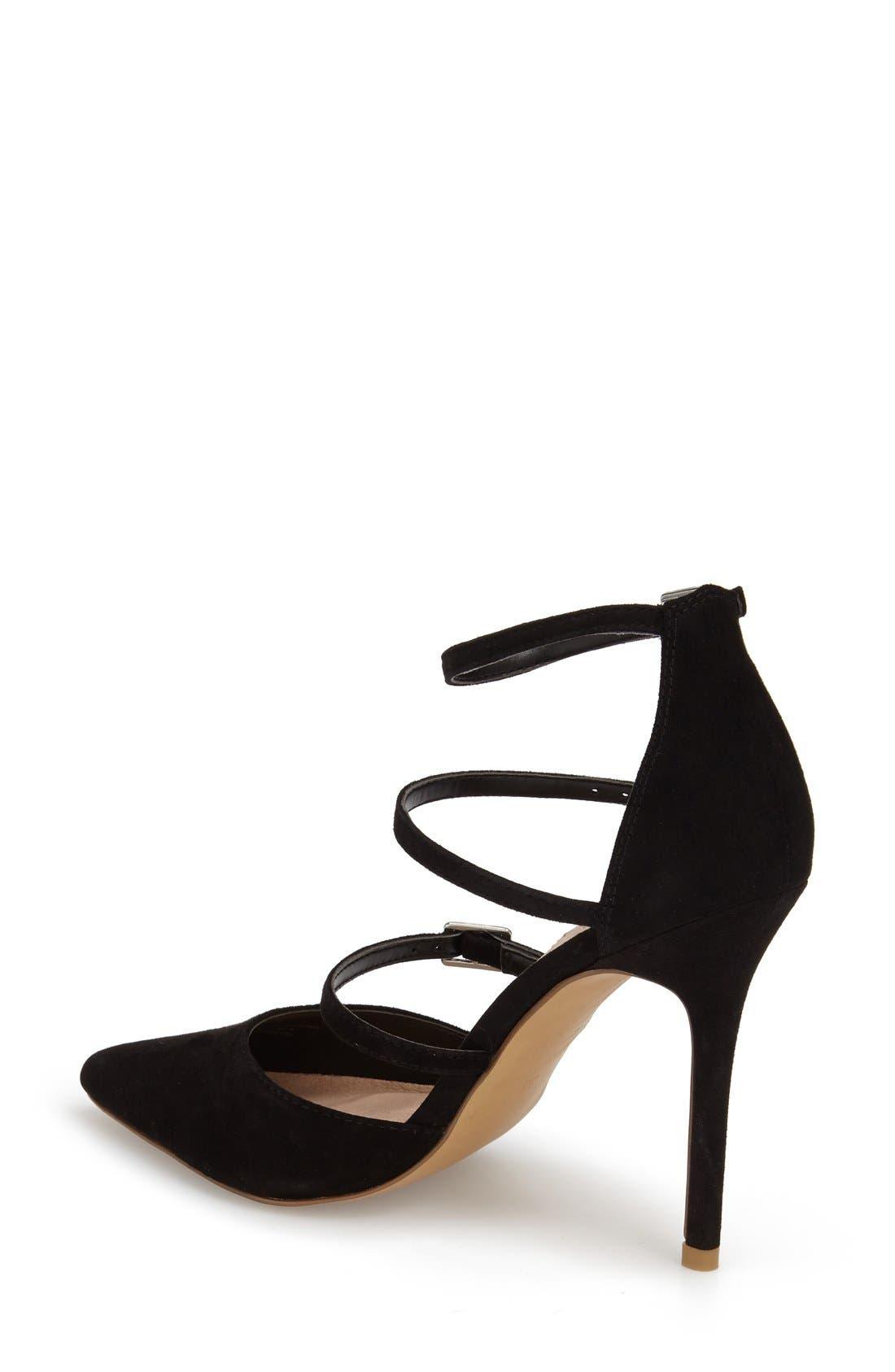 Alternate Image 2  - Topshop 'Giselle' Buckle Sandal (Women)